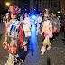 Los grupos de danzas representan unidos el carnaval tradicional ante cientos de personas