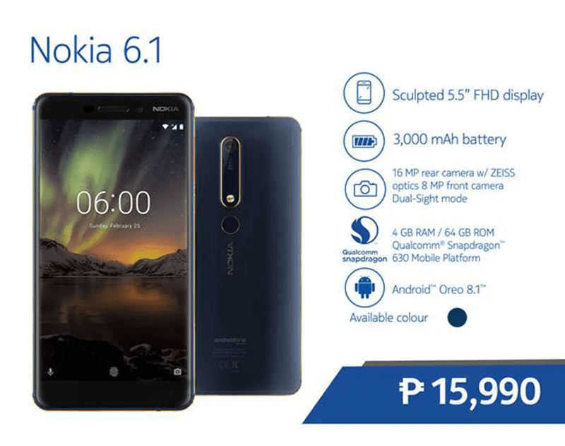 Nokia 6 2nd Generation and Nokia 8110 4G now available in PH stores!
