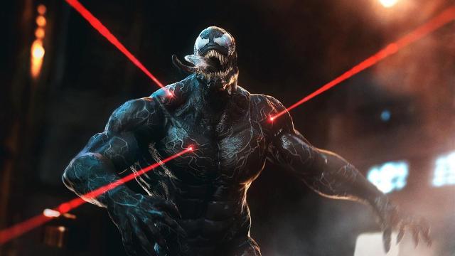 Venom Lasers Rouges Artwork - Fond d'écran en Ultra HD 4K