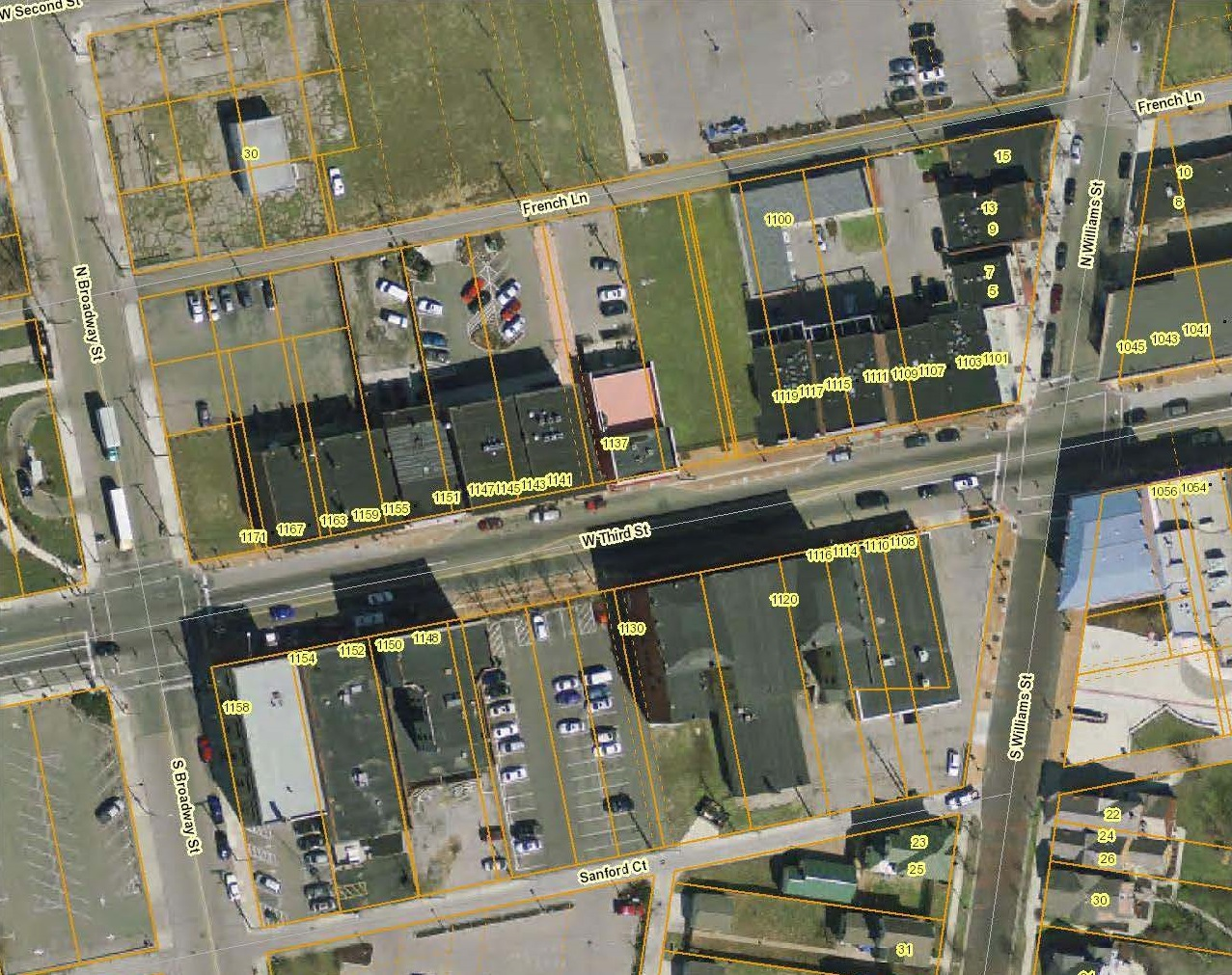 Wright Brother GIS map Dayton Ohio