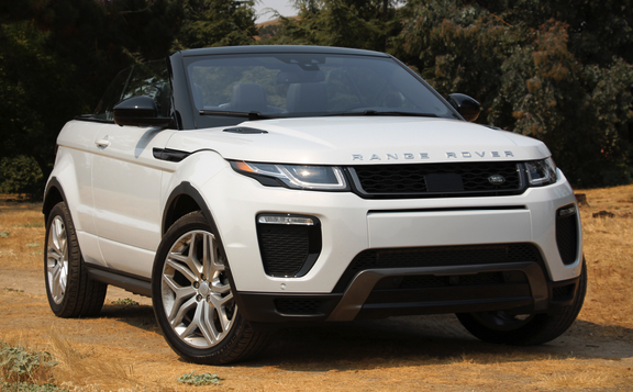 2018 land rover convertible.  2018 we got the evoque convertible throughout classy monterey vehicle full  week where our yulong white hse dynamic examination automobile shuttled us coming  with 2018 land rover