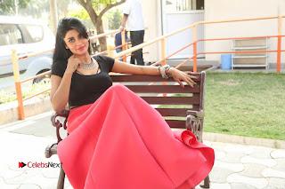 Telugu Actress Harini Stills at Dhyavudaa Movie Teaser Launch  0417.JPG