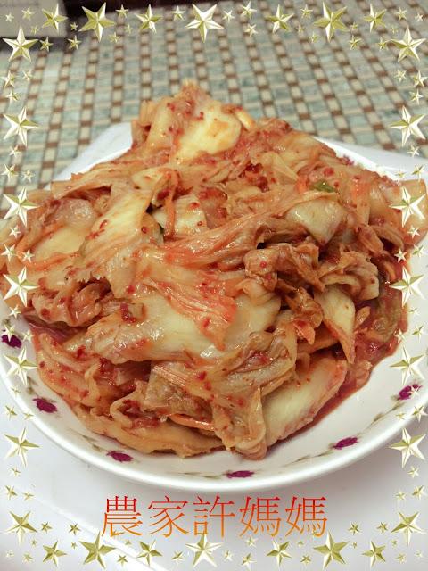 沒負擔韓國泡菜的做法-農家許媽媽韓國泡菜