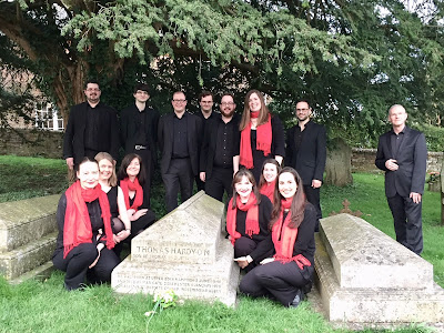 The Wessex Consort at Hardy's Grave