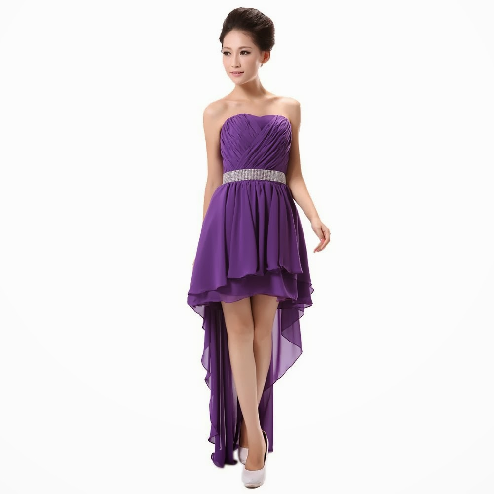 What To Wear Today: Dark Purple Bridesmaid Dresses