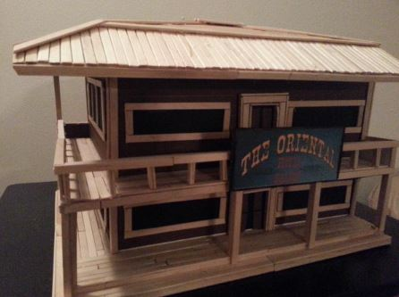 Gambar Desain Miniatur Rumah Dari Stik Es Krim - Tempat ...