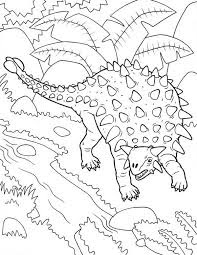 Ankylosaurus Coloring Sheet For Print Online