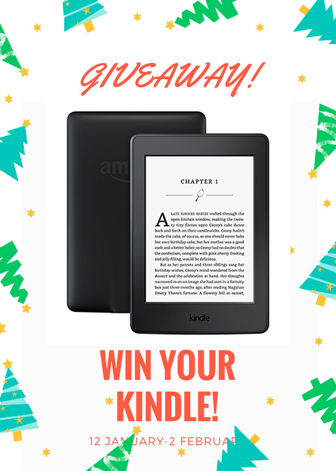 Enter to Win a Kindle Paperwhite