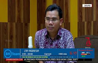 New CW Biss Key CNN Indonesia Telkom 3S 118.0°E