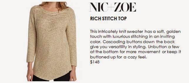 Rich Stitch Top Sweater