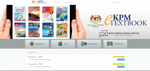 Kpm Etextbook Reader App Has Form 1 Textbooks On Devices With More