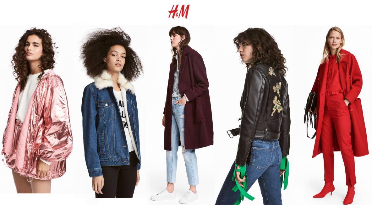 kurtki H&M