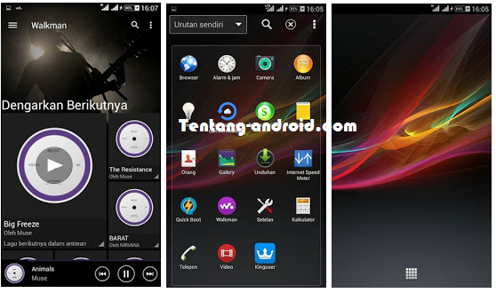 Custom ROM  XPERIA Z For Evercoss Winner Y A76 Terbaik