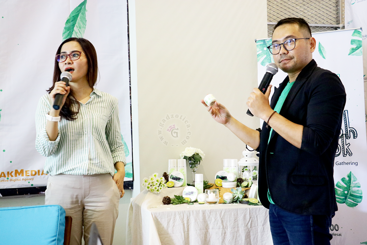 Naavagreen Beauty Blogger Gathering Surabaya
