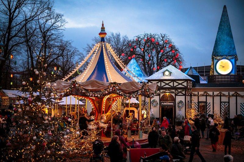 Tivoli Gardens Christmas market, Copenhagen