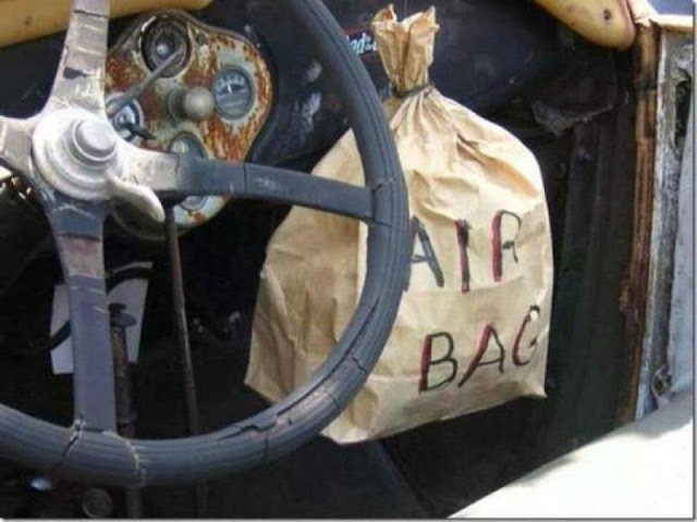 Funny Joke Image- Indian Air Bag