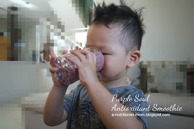Purple Soul antioxidant smoothie (Rain Soul)
