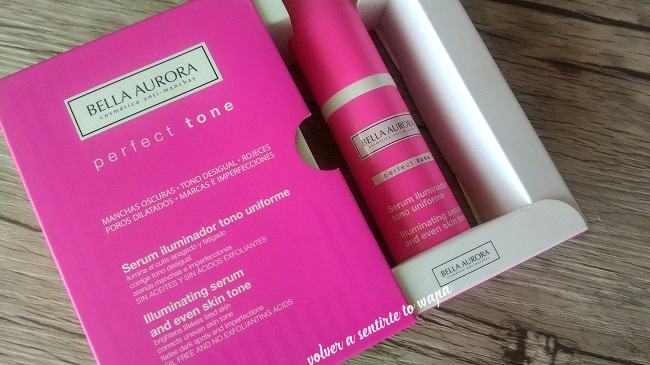 REVIEW | Serum perfect tone de BELLA AURORA