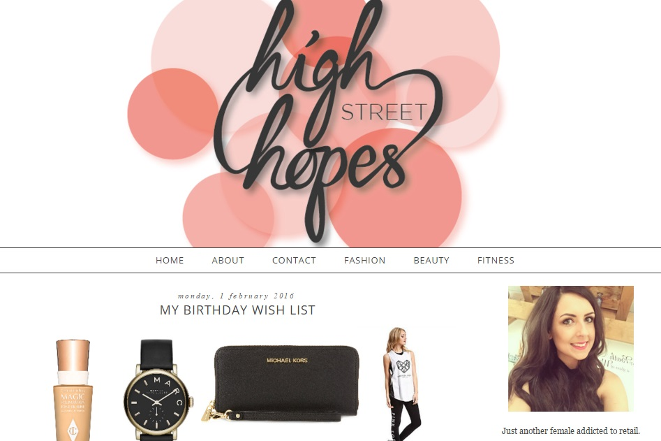 6 Blogs To Indulge In This Weekend High Street Hopes
