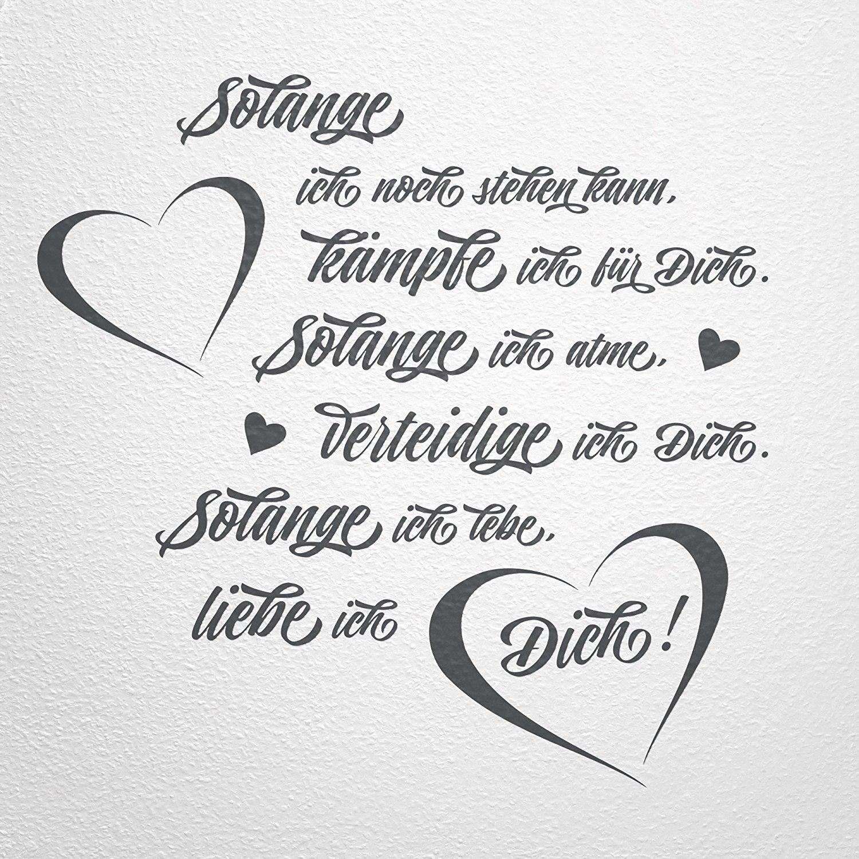 Sprüche: Kämpfen um die Liebe - Mit Herz und Verstand