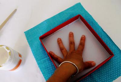 boite en tissu montessori