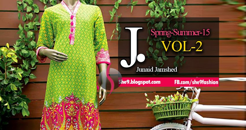 JJ Latest Lawn Prints Volume-2
