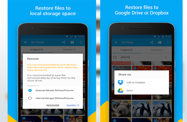 How To Recover all Deleted Files on Your Phone Even After So many Reset !