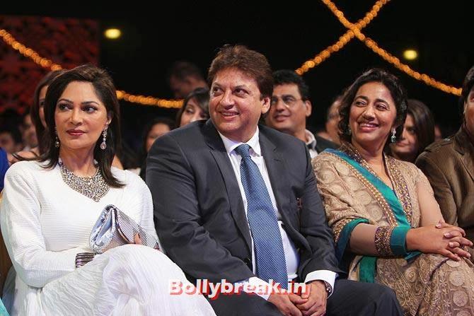 Simi Garewal, Shashi and Anu Ranjan, Indian Tele Awards 2013 red Carpet Pictures - ITA - Lauren Gottlieb, Mouni Roy, Ratan Rajput