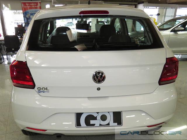 Novo Volkswagen Gol 2017 - traseira