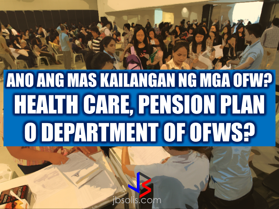 "During the early days of the President in the office, President Duterte said that he wants all OFWs to go home and that working abroad will be a thing of the past by providing opportunities to the Filipinos to do business in the country that can sustain their needs. Recently on during his meeting with the Filipino community in Bahrain, he said that the Department of OFWs will be ready in a few months.  Why do we need to create a department of OFWs when the original plan is to bring OFWs home for good? Confusing, indeed.  Department of Labor and Employment Silvestre Bello III said that creating a Department of OFWs will be somewhat in contrast to the original plan, which is to bring all OFWs back to the country.  Department of OFWs or Much Better; OFW Healthcare or Pension Plan? What Do You Prefer? Though some individuals pursue it, it is definitely not a good option. It is like encouraging more Filipinos to work overseas instead of convincing them to do business and make a sustainable livelihood in the country through income generating opportunities like venturing into entrepreneurship or starting a small business.  ""We have to consider that the final program of our government under President Rodrigo Roa Duterte is to repatriate our overseas Filipino workers. He (Duterte) would like to create more jobs in our country so that there won't be a necessity for our countrymen to go abroad,"" Sec. Bello said.  ""Our final goal is to bring them back to the country and we can only do that if we give them decent jobs, decent pay,"" he added.  The creation of the new department will not be easy. It may have to be approved by the  Congress and of course, it will need funds- a lot of it.  But do OFW's really need a new department? Why not devote government resources to something that can be more directly beneficial to OFWs and their families like OFW Health Care or an OFW Pension that they can use in their retirement?  What would OFWs prefer? Adequate income so that they may live a comfortable life with their family or to spend their entire lives leaving their families behind working abroad? If the goal of the Duterte government is to end the generation of OFWs in the future, then the Department of OFWs will be rendered useless and should not be considered in the first place. RECOMMENDED: KumpaS OFW (Kumpulan ng Pangulo Sa mga Filipinos Worldwide) is a compilation of OFW stories, success and failure likewise,  gathered by the Presidential Communications Office to show the real situations of the OFWs working outside the country.  All video clips belong to the Presidential Communications Office. Watch and be inspired. Story #1   This video is the story of an OFW in Saudi Arabia. A former household service workers who strived to succeed and became a successful business woman. She worked as a beautician and eventually put up her own recruitment firm. She devoted herself to helping distressed household workers without expecting anything in return. Fatima Ibrahim is a living example that life may be unforgiving at times but there's always light at the end of the tunnel.  Story #2  Valenardo Haduca, an electronics instructor in Bahrain relates his experience being a teacher in an unfamiliar territory with far different culture. How he needed more patience in dealing with his students. OFWs, more than others develop more patience while working abroad. It is a vital virtue every OFW should have in dealing with other nationalities at any given country.   Story #3  Rosielyn Dela Rita found her refuge at Bahay-Kalinga, a shelter for abused OFW women, (a counterpart of Esteraha for OFW men). Rosielyn was among the OFWs who availed the amnesty and had been repatriated with the help of Philippine Overseas Labor Office in Saudi Arabia.  Story #4  For Randy Ayuste, the path to success was never easy. Before he became a successful graphic/visual artist in Bahrain, he experienced how to be swindled and underpaid. He said that however successful an OFW may be in whatever field you have abroad, it will never be called a success because your family longs for your presence back home.    Story #5  For John Bituin, a DJ in Bahrain, being an OFW is a life of challenges. From being a newbie DJ who hardly earns P20 in the Philippines. He has given a chance to work in Bahrain, from being a DJ to a successful entertainment business owner who brings Filipino bands and talents to Bahrain.    RECOMMENDED: At this age where children love to stay on the couch holding their tablets and mobile phones, an elementary student chooses to be active in school and swimming which made him the ""heaviest"" elementary graduate on earth.   A student in Mabalacat, Pampanga raked 58 medals from academic and different fields. On his Facebook post, he said that this time it's heavier compared to the medals he got last year. Joshua Santiago, 12, graduated in Elementary at Mabiga Mabalacat Elementary School in Mabalacat Pampanga earlier this month. His video post with over a million views as of this writing  shows how many medals he got. Most of his medals are from the swimming competitions where he joined and won including a chance to participate at the Palarong pambansa.  His dedication and determination paid off as he graduated. This little guy inspired everyone around him especially his teammates and classmates. To collect more than 10 medals   would be enough but for him it was unbelievable.    In a facebook status, his mother made a clarification that those 58 medals was from his being an excellent swimmer and from his academic excellence. He was also awarded as ""Athlete of the Year"".    Recommended:  A cleaner in Saudi Arabia was mocked on social media after a photo of him looking at jewelry went viral. The Department of Health expressed concern  over possible mental illness among the young people due to the alarming amount of time they spend on social media.  According to DOH spokesman, Eric Tayag, while social media is a way to connect to other people, it also has adverse effects.  Tayag also said that most juveniles that are fond of social media are also involved in bullying, angst and depression.  Bullying and depression can start with issues about love, relationship with the same sex, unplanned pregnancy, problems at school, at home and health problems.  Common symptoms that a person is experiencing depression is that  they do not do daily activities normally like taking a bath, skipping meals, always sad and not engaging in conversations.   {INSERT 2-3 PARAGRAPHS HERE} {INSERT ANOTHER 5 {INSERT 2-3 PARAGRAPH   The severe depression that burdened the young people through social media results to bullying. even social media creates a connection, people with mental health issues perceive it differently.  DOH step is a response to the World Health Organization (WHO) reports that from 2005 to 2015, the number of people who suffer depression that leads to committing suicide has increased to 18%.  WHO celebrated  World health Day that focused on how to cure depression problems. It can be cured by means of counselling.  In 2005, 280 million people suffered from depression and has increased to 332 Million in 2015. This is a serious threat to all the young people around the world including the Filipino youth.  In the records of the DOH HOPE Line, they have received 3,479 depression  related phone calls in 2016. Most number of calls are recorded on November and December last year and on February this year.  Health Secretary Paulyn Jean Ubial said that the DOH has allocated P100 million funds to address the said problem in mental illness . Source: Philstar Recommended: Facebook has been a part of everyday life for many. From here they can be aware of what's currently happening around them, get in touch with old friends, some even sell things and make a living. Social media platforms like facebook provides useful informations from simple shoutouts and statuses to relevant news and current events. But lately, a lot of false news has invaded the social media spreading false and malicious posts. A lot of them is just a click bait which redirects you to a site full of ads. Some money-making maniacs are taking advantage of the popularity of social media sites making it difficult for the netizens to spot a legitimate posts from a fake one.    A wife of an OFW asked OWWA about what sort of  business she can start as a spouse of an OFW who is an active member. Samantha Natividad  said that her husband is an OFW for a long time and she wants to start a business to help her husband as their children are growing up as well as their expenses. As a helpful information for other OFW spouses  who also want to help  their OFW partners, we made this info graphics regarding this topic.  Does OWWA have an existing program for OFWs who want to start their own business? Yes. The Overseas Workers Welfare Administration (OWWA) has  two existing programs under the reintegration program  for those who want to start their own business.  What are those? In the first program, OWWA can give a 'grant' for OFW spouses who want to start even a small scale business. How much is the amount of funds OWWA can provide under this program? The fund that can be granted under this program depends on what kind of business they want to start. However, the maximum amount is only P20,000.   What is the other program? The other program is called a 'special loan program'. this loan program is through partnership with the Development Bank of the Philippines (DBP) and the Land Bank of the Philippines.  How much can an OFW spouse can avail on this program? OFWs and their spouses can avail a loan amounting from P300,000 up to P2,000,000.  How much should be the net income of an OFW to avail of this loan? For an OFW to avail of this loan, he/she must be earning a net monthly income of at least P10,000 to avail the loan amount of P3,000 up to P2 Million.    How much will be the interest rate? The loan will have an interest rate of 7.5% annually.  What will be the mode/frequency of payment? Depending on project's cash flow, the OFW can pay it on monthly, quarterly or annual basis.  Where  should the OFW wife/husband apply to avail these programs? They can apply at any OWWA Regional Welfare Office (ORW) nearest to them.  What are the eligibility requirements  for the  OFW to be qualified to avail? 1. The OFW must be an active OWWA member.  2. OFW husband/wife who want to avail must have completed the Entrepreneurial Development Training (EDT) conducted by NRCO and OWWA ORWsin cooperation with the Department of Trade and Industry/Philippine Trade Training Center (PTTC)/ Bureau of Micro, Small and Medium Enterprise Development (BSMED).  3. They must provide 20% equity.  4. The project or business must generate a net income of at least P10,000 for the OFW.  For details and information regarding these program, you can contact OWWA Regional Offices in your area.  *These information is based on the answer provided by OWWA Deputy Administrator Josefino Torres. Source: BanderaInquirer.net   Recommended:     2017 Top 10 IDEAS for OFWs to Invest  A Filipina based in Waikato, New Zealand has now been sentenced to 11 months and  2 weeks of house arrest after she was convicted for 284 immigration fraud charges involving her visa scam back in October 2015. A 180 hour community service also comes with the sentence. Loraine Anne Jayme, 35, a resident of Te Aroha, Waikato has a dual citizenship. For every OFW who wish to come to New Zealand, she charges $2,250 each. It took some time for the scam to be uncovered because Immigration New Zealand (INZ) didn't initially realise a large portion of the workers were processing their application through the alleged ringleader.   However, Immigration Minister Michael Woodhouse said that more than a thousand Filipinos who might have entered the country illegally  using fake visas could stay.  Mr. Woodland said that they could stay to avoid potential damage to the dairy industry and the rebuilding of Christchurch. There are 38,000  OFWs working on dairy farms in New Zealand and they are living with pretty good reputation with regards to their work ethics and they are worried about what it could mean to them.  ""We're law abiding people. We like to see the law of our land upheld and proper process done,"" Mr Lewis said.   ""So yeah, I have to give credit to Immigration New Zealand for doing it and hopefully they'll be back on deck next week processing them within their required rules,"" he added. The authorities are now auditing farms around the Waikato, Canterbury and Southland. Source: TVNZ, NewsHub, Inquirer RECOMMENDED:  The mother of a 12-year old girl who mysteriously died while on her father's care in Jeddah, Saudi Arabia sought the help of the Philippine government, particularly on the Presidential Action Center to help her forward the case to the DFA to allow the Philippine Consulate in Jeddah  to transmit the autopsy report conducted on her daughter.Bliss Mendoza, an OFW in Canada was working in Jeddah as a nurse together with her husband and daughter ""Tipay"" before she worked in Canada and left her daughter with her husband's care in Jeddah.     The OFWs are the reason why President Rodrigo Duterte is pushing through with the campaign on illegal drugs, acknowledging their hardships and sacrifices. He said that as he visit the countries where there are OFWs, he has heard sad stories about them: sexually abused Filipinas,domestic helpers being forced to work on a number of employers. ""I have been to many places. I have been to the Middle East. You know, the husband is working in one place, the wife in another country. The so many sad stories I hear about our women being raped, abused sexually,"" The President said. About Filipino domestic helpers, he said:  ""If you are working on a family and the employer's sibling doesn't have a helper, you will also work for them. And if in a compound,the son-in-law of the employer is also living in there, you will also work for him.So, they would finish their work on sunrise."" He even refer to the OFWs being similar to the African slaves because of the situation that they have been into for the sake of their families back home. Citing instances that some of them, out of deep despair, resorted to ending their own lives.  The President also said that he finds it heartbreaking to know that after all the sacrifices of the OFWs working abroad for the future of their families they would come home just to learn that their children has been into illegal drugs. ""I made no bones about my hatred. I said, 'If you do drugs in my city, if you destroy our daughters and sons, I'll just have to kill you.' I repeated the same warning when i became president,"" he said.   Critics of the so-called violent war on drugs under President Duterte's administration includes local and international human rights groups, linking the campaign on thousands of drug-related killings.  Police figures show that legitimate police operations have led to over 2,600 deaths of individuals involved in drugs since the war on drugs began. However, the war on drugs has been evident that the extent of drug menace should be taken seriously. The drug personalities includes high ranking officials and they thrive in the expense of our own children,if not being into drugs, being victimized by drug related crimes. The campaign on illegal drugs has somehow made a statement among the drug pushers and addicts. If the common citizen fear walking on the streets at night worrying about the drug addicts lurking in the dark, now they can walk peacefully while the drug addicts hide in fear that the police authorities might get them. Source:GMA {INSERT ALL PARAGRAPHS HERE {EMBED 3 FB PAGES POST FROM JBSOLIS/THOUGHTSKOTO/PEBA HERE OR INSERT 3 LINKS}   ©2017 THOUGHTSKOTO www.jbsolis.com SEARCH JBSOLIS The OFWs are the reason why President Rodrigo Duterte is pushing through with the campaign on illegal drugs, acknowledging their hardships and sacrifices.     ©2017 THOUGHTSKOTO www.jbsolis.com SEARCH JBSOLIS The mother of a 12-year old girl who mysteriously died while on her father's care in Jeddah, Saudi Arabia sought the help of the Philippine government, particularly on the Presidential Action Center to help her forward the case to the DFA to allow the Philippine Consulate in Jeddah  to transmit the autopsy report conducted on her daughter.Bliss Mendoza, an OFW in Canada was working in Jeddah as a nurse together with her husband and daughter ""Tipay"" before she worked in Canada and left her daughter with her husband's care in Jeddah.    The OFWs are the reason why President Rodrigo Duterte is pushing through with the campaign on illegal drugs, acknowledging their hardships and sacrifices. He said that as he visit the countries where there are OFWs, he has heard sad stories about them: sexually abused Filipinas,domestic helpers being forced to work on a number of employers. ""I have been to many places. I have been to the Middle East. You know, the husband is working in one place, the wife in another country. The so many sad stories I hear about our women being raped, abused sexually,"" The President said. About Filipino domestic helpers, he said:  ""If you are working on a family and the employer's sibling doesn't have a helper, you will also work for them. And if in a compound,the son-in-law of the employer is also living in there, you will also work for him.So, they would finish their work on sunrise."" He even refer to the OFWs being similar to the African slaves because of the situation that they have been into for the sake of their families back home. Citing instances that some of them, out of deep despair, resorted to ending their own lives.  The President also said that he finds it heartbreaking to know that after all the sacrifices of the OFWs working abroad for the future of their families they would come home just to learn that their children has been into illegal drugs. ""I made no bones about my hatred. I said, 'If you do drugs in my city, if you destroy our daughters and sons, I'll just have to kill you.' I repeated the same warning when i became president,"" he said.   Critics of the so-called violent war on drugs under President Duterte's administration includes local and international human rights groups, linking the campaign on thousands of drug-related killings.  Police figures show that legitimate police operations have led to over 2,600 deaths of individuals involved in drugs since the war on drugs began. However, the war on drugs has been evident that the extent of drug menace should be taken seriously. The drug personalities includes high ranking officials and they thrive in the expense of our own children,if not being into drugs, being victimized by drug related crimes. The campaign on illegal drugs has somehow made a statement among the drug pushers and addicts. If the common citizen fear walking on the streets at night worrying about the drug addicts lurking in the dark, now they can walk peacefully while the drug addicts hide in fear that the police authorities might get them. Source:GMA {INSERT ALL PARAGRAPHS HERE {EMBED 3 FB PAGES POST FROM JBSOLIS/THOUGHTSKOTO/PEBA HERE OR INSERT 3 LINKS}   ©2017 THOUGHTSKOTO www.jbsolis.com SEARCH JBSOLIS The OFWs are the reason why President Rodrigo Duterte is pushing through with the campaign on illegal drugs, acknowledging their hardships and sacrifices.     ©2017 THOUGHTSKOTO www.jbsolis.com SEARCH JBSOLIS  2017 Top 10 IDEAS for OFWs to Invest  A Filipina based in Waikato, New Zealand has now been sentenced to 11 months and  2 weeks of house arrest after she was convicted for 284 immigration fraud charges involving her visa scam back in October 2015. A 180 hour community service also comes with the sentence. Loraine Anne Jayme, 35, a resident of Te Aroha, Waikato has a dual citizenship. For every OFW who wish to come to New Zealand, she charges $2,250 each. It took some time for the scam to be uncovered because Immigration New Zealand (INZ) didn't initially realise a large portion of the workers were processing their application through the alleged ringleader.   However, Immigration Minister Michael Woodhouse said that more than a thousand Filipinos who might have entered the country illegally  using fake visas could stay.  Mr. Woodland said that they could stay to avoid potential damage to the dairy industry and the rebuilding of Christchurch. There are 38,000  OFWs working on dairy farms in New Zealand and they are living with pretty good reputation with regards to their work ethics and they are worried about what it could mean to them.  ""We're law abiding people. We like to see the law of our land upheld and proper process done,"" Mr Lewis said.   ""So yeah, I have to give credit to Immigration New Zealand for doing it and hopefully they'll be back on deck next week processing them within their required rules,"" he added. The authorities are now auditing farms around the Waikato, Canterbury and Southland. Source: TVNZ, NewsHub, Inquirer RECOMMENDED:  The mother of a 12-year old girl who mysteriously died while on her father's care in Jeddah, Saudi Arabia sought the help of the Philippine government, particularly on the Presidential Action Center to help her forward the case to the DFA to allow the Philippine Consulate in Jeddah  to transmit the autopsy report conducted on her daughter.Bliss Mendoza, an OFW in Canada was working in Jeddah as a nurse together with her husband and daughter ""Tipay"" before she worked in Canada and left her daughter with her husband's care in Jeddah.     The OFWs are the reason why President Rodrigo Duterte is pushing through with the campaign on illegal drugs, acknowledging their hardships and sacrifices. He said that as he visit the countries where there are OFWs, he has heard sad stories about them: sexually abused Filipinas,domestic helpers being forced to work on a number of employers. ""I have been to many places. I have been to the Middle East. You know, the husband is working in one place, the wife in another country. The so many sad stories I hear about our women being raped, abused sexually,"" The President said. About Filipino domestic helpers, he said:  ""If you are working on a family and the employer's sibling doesn't have a helper, you will also work for them. And if in a compound,the son-in-law of the employer is also living in there, you will also work for him.So, they would finish their work on sunrise."" He even refer to the OFWs being similar to the African slaves because of the situation that they have been into for the sake of their families back home. Citing instances that some of them, out of deep despair, resorted to ending their own lives.  The President also said that he finds it heartbreaking to know that after all the sacrifices of the OFWs working abroad for the future of their families they would come home just to learn that their children has been into illegal drugs. ""I made no bones about my hatred. I said, 'If you do drugs in my city, if you destroy our daughters and sons, I'll just have to kill you.' I repeated the same warning when i became president,"" he said.   Critics of the so-called violent war on drugs under President Duterte's administration includes local and international human rights groups, linking the campaign on thousands of drug-related killings.  Police figures show that legitimate police operations have led to over 2,600 deaths of individuals involved in drugs since the war on drugs began. However, the war on drugs has been evident that the extent of drug menace should be taken seriously. The drug personalities includes high ranking officials and they thrive in the expense of our own children,if not being into drugs, being victimized by drug related crimes. The campaign on illegal drugs has somehow made a statement among the drug pushers and addicts. If the common citizen fear walking on the streets at night worrying about the drug addicts lurking in the dark, now they can walk peacefully while the drug addicts hide in fear that the police authorities might get them. Source:GMA {INSERT ALL PARAGRAPHS HERE {EMBED 3 FB PAGES POST FROM JBSOLIS/THOUGHTSKOTO/PEBA HERE OR INSERT 3 LINKS}   ©2017 THOUGHTSKOTO www.jbsolis.com SEARCH JBSOLIS The OFWs are the reason why President Rodrigo Duterte is pushing through with the campaign on illegal drugs, acknowledging their hardships and sacrifices.     ©2017 THOUGHTSKOTO www.jbsolis.com SEARCH JBSOLIS The mother of a 12-year old girl who mysteriously died while on her father's care in Jeddah, Saudi Arabia sought the help of the Philippine government, particularly on the Presidential Action Center to help her forward the case to the DFA to allow the Philippine Consulate in Jeddah  to transmit the autopsy report conducted on her daughter.Bliss Mendoza, an OFW in Canada was working in Jeddah as a nurse together with her husband and daughter ""Tipay"" before she worked in Canada and left her daughter with her husband's care in Jeddah.   The OFWs are the reason why President Rodrigo Duterte is pushing through with the campaign on illegal drugs, acknowledging their hardships and sacrifices. He said that as he visit the countries where there are OFWs, he has heard sad stories about them: sexually abused Filipinas,domestic helpers being forced to work on a number of employers. ""I have been to many places. I have been to the Middle East. You know, the husband is working in one place, the wife in another country. The so many sad stories I hear about our women being raped, abused sexually,"" The President said. About Filipino domestic helpers, he said:  ""If you are working on a family and the employer's sibling doesn't have a helper, you will also work for them. And if in a compound,the son-in-law of the employer is also living in there, you will also work for him.So, they would finish their work on sunrise."" He even refer to the OFWs being similar to the African slaves because of the situation that they have been into for the sake of their families back home. Citing instances that some of them, out of deep despair, resorted to ending their own lives.  The President also said that he finds it heartbreaking to know that after all the sacrifices of the OFWs working abroad for the future of their families they would come home just to learn that their children has been into illegal drugs. ""I made no bones about my hatred. I said, 'If you do drugs in my city, if you destroy our daughters and sons, I'll just have to kill you.' I repeated the same warning when i became president,"" he said.   Critics of the so-called violent war on drugs under President Duterte's administration includes local and international human rights groups, linking the campaign on thousands of drug-related killings.  Police figures show that legitimate police operations have led to over 2,600 deaths of individuals involved in drugs since the war on drugs began. However, the war on drugs has been evident that the extent of drug menace should be taken seriously. The drug personalities includes high ranking officials and they thrive in the expense of our own children,if not being into drugs, being victimized by drug related crimes. The campaign on illegal drugs has somehow made a statement among the drug pushers and addicts. If the common citizen fear walking on the streets at night worrying about the drug addicts lurking in the dark, now they can walk peacefully while the drug addicts hide in fear that the police authorities might get them. Source:GMA {INSERT ALL PARAGRAPHS HERE {EMBED 3 FB PAGES POST FROM JBSOLIS/THOUGHTSKOTO/PEBA HERE OR INSERT 3 LINKS}   ©2017 THOUGHTSKOTO www.jbsolis.com SEARCH JBSOLIS The OFWs are the reason why President Rodrigo Duterte is pushing through with the campaign on illegal drugs, acknowledging their hardships and sacrifices.  ©2017 THOUGHTSKOTO www.jbsolis.com SEARCH JBSOLISFacebook has been a part of everyday life for many. From here they can be aware of what's currently happening around them, get in touch with old friends, some even sell things and make a living. Social media platforms like facebook provides useful informations from simple shoutouts and statuses to relevant news and current events. But lately, a lot of false news has invaded the social media spreading false and malicious posts. A lot of them is just a click bait which redirects you to a site full of ads. Some money-making maniacs are taking advantage of the popularity of social media sites making it difficult for the netizens to spot a legitimate posts from a fake one.    A wife of an OFW asked OWWA about what sort of  business she can start as a spouse of an OFW who is an active member. Samantha Natividad  said that her husband is an OFW for a long time and she wants to start a business to help her husband as their children are growing up as well as their expenses. As a helpful information for other OFW spouses  who also want to help  their OFW partners, we made this info graphics regarding this topic.  Does OWWA have an existing program for OFWs who want to start their own business? Yes. The Overseas Workers Welfare Administration (OWWA) has  two existing programs under the reintegration program  for those who want to start their own business.  What are those? In the first program, OWWA can give a 'grant' for OFW spouses who want to start even a small scale business. How much is the amount of funds OWWA can provide under this program? The fund that can be granted under this program depends on what kind of business they want to start. However, the maximum amount is only P20,000.   What is the other program? The other program is called a 'special loan program'. this loan program is through partnership with the Development Bank of the Philippines (DBP) and the Land Bank of the Philippines.  How much can an OFW spouse can avail on this program? OFWs and their spouses can avail a loan amounting from P300,000 up to P2,000,000.  How much should be the net income of an OFW to avail of this loan? For an OFW to avail of this loan, he/she must be earning a net monthly income of at least P10,000 to avail the loan amount of P3,000 up to P2 Million.    How much will be the interest rate? The loan will have an interest rate of 7.5% annually.  What will be the mode/frequency of payment? Depending on project's cash flow, the OFW can pay it on monthly, quarterly or annual basis.  Where  should the OFW wife/husband apply to avail these programs? They can apply at any OWWA Regional Welfare Office (ORW) nearest to them.  What are the eligibility requirements  for the  OFW to be qualified to avail? 1. The OFW must be an active OWWA member.  2. OFW husband/wife who want to avail must have completed the Entrepreneurial Development Training (EDT) conducted by NRCO and OWWA ORWsin cooperation with the Department of Trade and Industry/Philippine Trade Training Center (PTTC)/ Bureau of Micro, Small and Medium Enterprise Development (BSMED).  3. They must provide 20% equity.  4. The project or business must generate a net income of at least P10,000 for the OFW.  For details and information regarding these program, you can contact OWWA Regional Offices in your area.  *These information is based on the answer provided by OWWA Deputy Administrator Josefino Torres. Source: BanderaInquirer.net   Recommended:     2017 Top 10 IDEAS for OFWs to Invest  A Filipina based in Waikato, New Zealand has now been sentenced to 11 months and  2 weeks of house arrest after she was convicted for 284 immigration fraud charges involving her visa scam back in October 2015. A 180 hour community service also comes with the sentence. Loraine Anne Jayme, 35, a resident of Te Aroha, Waikato has a dual citizenship. For every OFW who wish to come to New Zealand, she charges $2,250 each. It took some time for the scam to be uncovered because Immigration New Zealand (INZ) didn't initially realise a large portion of the workers were processing their application through the alleged ringleader.   However, Immigration Minister Michael Woodhouse said that more than a thousand Filipinos who might have entered the country illegally  using fake visas could stay.  Mr. Woodland said that they could stay to avoid potential damage to the dairy industry and the rebuilding of Christchurch. There are 38,000  OFWs working on dairy farms in New Zealand and they are living with pretty good reputation with regards to their work ethics and they are worried about what it could mean to them.  ""We're law abiding people. We like to see the law of our land upheld and proper process done,"" Mr Lewis said.   ""So yeah, I have to give credit to Immigration New Zealand for doing it and hopefully they'll be back on deck next week processing them within their required rules,"" he added. The authorities are now auditing farms around the Waikato, Canterbury and Southland. Source: TVNZ, NewsHub, Inquirer RECOMMENDED:  The mother of a 12-year old girl who mysteriously died while on her father's care in Jeddah, Saudi Arabia sought the help of the Philippine government, particularly on the Presidential Action Center to help her forward the case to the DFA to allow the Philippine Consulate in Jeddah  to transmit the autopsy report conducted on her daughter.Bliss Mendoza, an OFW in Canada was working in Jeddah as a nurse together with her husband and daughter ""Tipay"" before she worked in Canada and left her daughter with her husband's care in Jeddah.     The OFWs are the reason why President Rodrigo Duterte is pushing through with the campaign on illegal drugs, acknowledging their hardships and sacrifices. He said that as he visit the countries where there are OFWs, he has heard sad stories about them: sexually abused Filipinas,domestic helpers being forced to work on a number of employers. ""I have been to many places. I have been to the Middle East. You know, the husband is working in one place, the wife in another country. The so many sad stories I hear about our women being raped, abused sexually,"" The President said. About Filipino domestic helpers, he said:  ""If you are working on a family and the employer's sibling doesn't have a helper, you will also work for them. And if in a compound,the son-in-law of the employer is also living in there, you will also work for him.So, they would finish their work on sunrise."" He even refer to the OFWs being similar to the African slaves because of the situation that they have been into for the sake of their families back home. Citing instances that some of them, out of deep despair, resorted to ending their own lives.  The President also said that he finds it heartbreaking to know that after all the sacrifices of the OFWs working abroad for the future of their families they would come home just to learn that their children has been into illegal drugs. ""I made no bones about my hatred. I said, 'If you do drugs in my city, if you destroy our daughters and sons, I'll just have to kill you.' I repeated the same warning when i became president,"" he said.   Critics of the so-called violent war on drugs under President Duterte's administration includes local and international human rights groups, linking the campaign on thousands of drug-related killings.  Police figures show that legitimate police operations have led to over 2,600 deaths of individuals involved in drugs since the war on drugs began. However, the war on drugs has been evident that the extent of drug menace should be taken seriously. The drug personalities includes high ranking officials and they thrive in the expense of our own children,if not being into drugs, being victimized by drug related crimes. The campaign on illegal drugs has somehow made a statement among the drug pushers and addicts. If the common citizen fear walking on the streets at night worrying about the drug addicts lurking in the dark, now they can walk peacefully while the drug addicts hide in fear that the police authorities might get them. Source:GMA {INSERT ALL PARAGRAPHS HERE {EMBED 3 FB PAGES POST FROM JBSOLIS/THOUGHTSKOTO/PEBA HERE OR INSERT 3 LINKS}   ©2017 THOUGHTSKOTO www.jbsolis.com SEARCH JBSOLIS The OFWs are the reason why President Rodrigo Duterte is pushing through with the campaign on illegal drugs, acknowledging their hardships and sacrifices.     ©2017 THOUGHTSKOTO www.jbsolis.com SEARCH JBSOLIS The mother of a 12-year old girl who mysteriously died while on her father's care in Jeddah, Saudi Arabia sought the help of the Philippine government, particularly on the Presidential Action Center to help her forward the case to the DFA to allow the Philippine Consulate in Jeddah  to transmit the autopsy report conducted on her daughter.Bliss Mendoza, an OFW in Canada was working in Jeddah as a nurse together with her husband and daughter ""Tipay"" before she worked in Canada and left her daughter with her husband's care in Jeddah.    The OFWs are the reason why President Rodrigo Duterte is pushing through with the campaign on illegal drugs, acknowledging their hardships and sacrifices. He said that as he visit the countries where there are OFWs, he has heard sad stories about them: sexually abused Filipinas,domestic helpers being forced to work on a number of employers. ""I have been to many places. I have been to the Middle East. You know, the husband is working in one place, the wife in another country. The so many sad stories I hear about our women being raped, abused sexually,"" The President said. About Filipino domestic helpers, he said:  ""If you are working on a family and the employer's sibling doesn't have a helper, you will also work for them. And if in a compound,the son-in-law of the employer is also living in there, you will also work for him.So, they would finish their work on sunrise."" He even refer to the OFWs being similar to the African slaves because of the situation that they have been into for the sake of their families back home. Citing instances that some of them, out of deep despair, resorted to ending their own lives.  The President also said that he finds it heartbreaking to know that after all the sacrifices of the OFWs working abroad for the future of their families they would come home just to learn that their children has been into illegal drugs. ""I made no bones about my hatred. I said, 'If you do drugs in my city, if you destroy our daughters and sons, I'll just have to kill you.' I repeated the same warning when i became president,"" he said.   Critics of the so-called violent war on drugs under President Duterte's administration includes local and international human rights groups, linking the campaign on thousands of drug-related killings.  Police figures show that legitimate police operations have led to over 2,600 deaths of individuals involved in drugs since the war on drugs began. However, the war on drugs has been evident that the extent of drug menace should be taken seriously. The drug personalities includes high ranking officials and they thrive in the expense of our own children,if not being into drugs, being victimized by drug related crimes. The campaign on illegal drugs has somehow made a statement among the drug pushers and addicts. If the common citizen fear walking on the streets at night worrying about the drug addicts lurking in the dark, now they can walk peacefully while the drug addicts hide in fear that the police authorities might get them. Source:GMA {INSERT ALL PARAGRAPHS HERE {EMBED 3 FB PAGES POST FROM JBSOLIS/THOUGHTSKOTO/PEBA HERE OR INSERT 3 LINKS}   ©2017 THOUGHTSKOTO www.jbsolis.com SEARCH JBSOLIS The OFWs are the reason why President Rodrigo Duterte is pushing through with the campaign on illegal drugs, acknowledging their hardships and sacrifices.     ©2017 THOUGHTSKOTO www.jbsolis.com SEARCH JBSOLIS  2017 Top 10 IDEAS for OFWs to Invest  A Filipina based in Waikato, New Zealand has now been sentenced to 11 months and  2 weeks of house arrest after she was convicted for 284 immigration fraud charges involving her visa scam back in October 2015. A 180 hour community service also comes with the sentence. Loraine Anne Jayme, 35, a resident of Te Aroha, Waikato has a dual citizenship. For every OFW who wish to come to New Zealand, she charges $2,250 each. It took some time for the scam to be uncovered because Immigration New Zealand (INZ) didn't initially realise a large portion of the workers were processing their application through the alleged ringleader.   However, Immigration Minister Michael Woodhouse said that more than a thousand Filipinos who might have entered the country illegally  using fake visas could stay.  Mr. Woodland said that they could stay to avoid potential damage to the dairy industry and the rebuilding of Christchurch. There are 38,000  OFWs working on dairy farms in New Zealand and they are living with pretty good reputation with regards to their work ethics and they are worried about what it could mean to them.  ""We're law abiding people. We like to see the law of our land upheld and proper process done,"" Mr Lewis said.   ""So yeah, I have to give credit to Immigration New Zealand for doing it and hopefully they'll be back on deck next week processing them within their required rules,"" he added. The authorities are now auditing farms around the Waikato, Canterbury and Southland. Source: TVNZ, NewsHub, Inquirer RECOMMENDED:  The mother of a 12-year old girl who mysteriously died while on her father's care in Jeddah, Saudi Arabia sought the help of the Philippine government, particularly on the Presidential Action Center to help her forward the case to the DFA to allow the Philippine Consulate in Jeddah  to transmit the autopsy report conducted on her daughter.Bliss Mendoza, an OFW in Canada was working in Jeddah as a nurse together with her husband and daughter ""Tipay"" before she worked in Canada and left her daughter with her husband's care in Jeddah.     The OFWs are the reason why President Rodrigo Duterte is pushing through with the campaign on illegal drugs, acknowledging their hardships and sacrifices. He said that as he visit the countries where there are OFWs, he has heard sad stories about them: sexually abused Filipinas,domestic helpers being forced to work on a number of employers. ""I have been to many places. I have been to the Middle East. You know, the husband is working in one place, the wife in another country. The so many sad stories I hear about our women being raped, abused sexually,"" The President said. About Filipino domestic helpers, he said:  ""If you are working on a family and the employer's sibling doesn't have a helper, you will also work for them. And if in a compound,the son-in-law of the employer is also living in there, you will also work for him.So, they would finish their work on sunrise."" He even refer to the OFWs being similar to the African slaves because of the situation that they have been into for the sake of their families back home. Citing instances that some of them, out of deep despair, resorted to ending their own lives.  The President also said that he finds it heartbreaking to know that after all the sacrifices of the OFWs working abroad for the future of their families they would come home just to learn that their children has been into illegal drugs. ""I made no bones about my hatred. I said, 'If you do drugs in my city, if you destroy our daughters and sons, I'll just have to kill you.' I repeated the same warning when i became president,"" he said.   Critics of the so-called violent war on drugs under President Duterte's administration includes local and international human rights groups, linking the campaign on thousands of drug-related killings.  Police figures show that legitimate police operations have led to over 2,600 deaths of individuals involved in drugs since the war on drugs began. However, the war on drugs has been evident that the extent of drug menace should be taken seriously. The drug personalities includes high ranking officials and they thrive in the expense of our own children,if not being into drugs, being victimized by drug related crimes. The campaign on illegal drugs has somehow made a statement among the drug pushers and addicts. If the common citizen fear walking on the streets at night worrying about the drug addicts lurking in the dark, now they can walk peacefully while the drug addicts hide in fear that the police authorities might get them. Source:GMA {INSERT ALL PARAGRAPHS HERE {EMBED 3 FB PAGES POST FROM JBSOLIS/THOUGHTSKOTO/PEBA HERE OR INSERT 3 LINKS}   ©2017 THOUGHTSKOTO www.jbsolis.com SEARCH JBSOLIS The OFWs are the reason why President Rodrigo Duterte is pushing through with the campaign on illegal drugs, acknowledging their hardships and sacrifices.     ©2017 THOUGHTSKOTO www.jbsolis.com SEARCH JBSOLIS The mother of a 12-year old girl who mysteriously died while on her father's care in Jeddah, Saudi Arabia sought the help of the Philippine government, particularly on the Presidential Action Center to help her forward the case to the DFA to allow the Philippine Consulate in Jeddah  to transmit the autopsy report conducted on her daughter.Bliss Mendoza, an OFW in Canada was working in Jeddah as a nurse together with her husband and daughter ""Tipay"" before she worked in Canada and left her daughter with her husband's care in Jeddah.   The OFWs are the reason why President Rodrigo Duterte is pushing through with the campaign on illegal drugs, acknowledging their hardships and sacrifices. He said that as he visit the countries where there are OFWs, he has heard sad stories about them: sexually abused Filipinas,domestic helpers being forced to work on a number of employers. ""I have been to many places. I have been to the Middle East. You know, the husband is working in one place, the wife in another country. The so many sad stories I hear about our women being raped, abused sexually,"" The President said. About Filipino domestic helpers, he said:  ""If you are working on a family and the employer's sibling doesn't have a helper, you will also work for them. And if in a compound,the son-in-law of the employer is also living in there, you will also work for him.So, they would finish their work on sunrise."" He even refer to the OFWs being similar to the African slaves because of the situation that they have been into for the sake of their families back home. Citing instances that some of them, out of deep despair, resorted to ending their own lives.  The President also said that he finds it heartbreaking to know that after all the sacrifices of the OFWs working abroad for the future of their families they would come home just to learn that their children has been into illegal drugs. ""I made no bones about my hatred. I said, 'If you do drugs in my city, if you destroy our daughters and sons, I'll just have to kill you.' I repeated the same warning when i became president,"" he said.   Critics of the so-called violent war on drugs under President Duterte's administration includes local and international human rights groups, linking the campaign on thousands of drug-related killings.  Police figures show that legitimate police operations have led to over 2,600 deaths of individuals involved in drugs since the war on drugs began. However, the war on drugs has been evident that the extent of drug menace should be taken seriously. The drug personalities includes high ranking officials and they thrive in the expense of our own children,if not being into drugs, being victimized by drug related crimes. The campaign on illegal drugs has somehow made a statement among the drug pushers and addicts. If the common citizen fear walking on the streets at night worrying about the drug addicts lurking in the dark, now they can walk peacefully while the drug addicts hide in fear that the police authorities might get them. Source:GMA {INSERT ALL PARAGRAPHS HERE {EMBED 3 FB PAGES POST FROM JBSOLIS/THOUGHTSKOTO/PEBA HERE OR INSERT 3 LINKS}   ©2017 THOUGHTSKOTO www.jbsolis.com SEARCH JBSOLIS The OFWs are the reason why President Rodrigo Duterte is pushing through with the campaign on illegal drugs, acknowledging their hardships and sacrifices. A student in Mabalacat, Pampanga raked 58 medals from academic and different fields. On his Facebook post, he said that this time it's heavier compared to the medals he got last year.Joshua Santiago, 12, graduated in Elementary at Mabiga Mabalacat Elementary School in Mabalacat Pampanga earlier this month. His video post with over a million views as of this writing  shows how many medals he got. Most of his medals are from the swimming competitions where he joined and won including a chance to participate at the Palarong pambansa. After occupying government housing project in Pandi Bulacan that has been eventually given to them by NHA, Kadamay members has a new demand on President Duterte. They want free electricity and water supply. In an hour long protest they made infront of Pandi Municipal Hall in Bulacan, some 300 members of Kadamay  wishes that their demand would be heard by the government. After acquiring the houses they illegally occupied, they demanded that electricity and water supply has to be provided by the government for free.   And it just doesn't end there, there's more. Kadamay also demanded that the government must provide them with jobs and livelihood with high income.  Kabataan party list  Rep. Sarah Elago and Anakpawis party list Representative Ariel Casilao, the plight of Kadamay does not only end on occupying government housing projects.  Casilao said that Kadamay members has no jobs and it is government's responsibility to give them adequate livelihood or jobs.  Meanwhile, Kadamay leader admitted that she has  far different status in life  compared to her members. In an interview with Sheryl Cosim on News 5, Marissa Palomeno, admitted that she has two children who are both engineers and another child who is a financial analyst in Canada. Palomeno said even though she is far well-off  as compared to her members, she does not forget where she came from and that is the common thing  that makes her cling with the poor. Recommended: DOLE To Hold A Job And Business/Livelihood Fair On Labor Day    ©2017 THOUGHTSKOTO www.jbsolis.com SEARCH JBSOLIS Meanwhile, Kadamay leader admitted that she has  far different status in life  compared to her members. In an interview with Sheryl Cosim on News 5, Marissa Palomeno, admitted that she has two children who are both engineers and another child who is a financial analyst in Canada. Palomeno said even though she is far well-off  as compared to her members, she does not forget where she came from and that is the common thing  that makes her cling with the poor.*Update: Due to the reports that Kadamay demands free water and electricity from the government, the group has shifted gears and released a public clarification that they only demand direct installation of water and electricity service.   There has always been a debate if  oarfishes can really predict earthquakes before it even happens.  But whether it is a coincidence or they have a supernatural power or ability to foresee or feel the coming earthquake, the bottom line is that every needs to be cautious and ready should any emergency or anything of that sort happens.  There was also sightings of the mysterious oarfish before the recent  earthquakes that happened in Mindanao, particularly in Surigao City that destroyed their airport just earlier this year.  Dr. Rachel Grant , a researcher in animal biology who study the possibility of detecting earthquakes using animal behavior said that the 'myth' about the oarfish being able to sense the forthcoming earthquake could be possible.    However, another scientist by the name of Catherine Dukes said:  ""The question is, can we detect it in the environment?"" And can animals detect a sudden rise in atmospheric ozone? None of these hypotheses, however, is ready to be developed into an animal-based, early-warning system for earth tremors.""  Recent Sightings  On April 17, a huge oarfish was seen Purok Kiblis in Barangay Lomuyon, Saranggani Province at around 4:30 a.m. but later died and washed ashore. Later that day a 4.1 magnitude earthquake, tectonic in origin with a depth of 222 kilometers shook the province with the epicenter recorded at 299 kilometers east of Sarangani. It was just an hour after a magnitude 4.4 with a depth of only 5 kilometers was felt in Pagudpud, Ilocos Norte at 7:28am according to the earthquake bulletin from PAG-ASA . Roughly 3 hours after the oarfish sighting in Sarangani, an earthquake followed.   PHIVOLCS continues to warn everyone about the possibility of a 7.2 magnitude earthquake that could affect Metro Manila and nearby provinces such as Bulacan, Cavite, Laguna, Rizal, Pampanga and others as the result of the West Valley Fault Movement dubbed as ""the Big One"". They said that if the people will not be prepared, it could affect 48,000 lives in one hit.  According to PHIVOLCS Director Renato Solidum, this estimate is made to make people aware that the problem is really big and many people could be injured or worse, die, if we are not prepared. He stressed out that the structural integrity of the buildings and houses in these areas could determine the extent of the effect should such 7.2 magnitude earthquake happened. He said that it is time that we make sure that we should carefully consider to consult building professionals when planning to build a domicile that is earthquake proof making its residence safe.  Solidum also reiterated the importance of having an earthquake drill. Determining what to do and where will be the safest place the family should go.  Every family should also prepare a ""go bag"" or a backpack containing important documents, food, medicine, and other survival items that could last for at least 72 hours.   The ""Big One"" is not a joke. Everyone should be prepared. Though we pray that it would never happen, readiness must be strictly considered to make or family and ourselves safe.  RECOMMENDED:  Earthquake drill or ""shake drill"" will be conducted in different parts of the country and that includes even the barangays to ensure the readiness and preparedness of every citizen should a huge earthquake such as the so called ""the big one"" would occur. This has been confirmed by MMDA Acting Chairman Tim Orbos and said to be taking place on July – the third drill being conducted on a large scale following a similar one last year. According to Philippine Institute of Volcanology and Seismology (PHIVOLCS) Director Renato Solidum, earthquake drills should be done not only in Metro Manila but needed to be expanded in other areas such as Laguna , Bulacan , and Cavite. MMDA's Orbos and PHIVOLC's Solidum presided a meeting earlier this month with the Metro Manila Disaster Response Cluster with regards to the series of earthquakes that occurred in several areas in the past weeks. Solidum urged people to refrain from being affected by rumors that circulate especially on social media, as these simply spread wrong information. Solidum said that people should not be afraid of the successive quakes as these occurrences are normal. He also urged the people not to be affected by baseless rumors that are spreading on social media. Solidum also said that since it was too far away from the West Valley Fault, the tremors had nothing to do with it. Orbos said that barangays would be included in the next earthquake drill, reiterating the importance of local governments in emergency situations like this. Orbos also urged people to prepare their own GO-bag. A Go-bag is an important package containing necessities such as easy-to-open canned food, flashlights, and other survival kits. Preparing a 72-hour survival kit will save the lives of your family and yourself. Aside from being ready when such disaster happens, it is also critical that the houses are made to endure such tremors. if not, a house or a building could collapse leaving many people injured, trapped or worse, dead. The Department of Public Works and Highways should release guidelines on design or blueprints of quake-resilient houses for those that can't afford to hire the services of structural engineers. RECOMMENDED: 2 EARTHQUAKES IN A MATTER OF MINUTES HIT DIFFERENT PARTS OF LUZON ON APRIL 8 EARTHQUAKE TIPS Metro Manila residents and nearby provinces should prepare for the ""Big One,"" the West Valley Fault is now ripe for movement and it can generate a 7.2 magnitude earthquake.  2 EARTHQUAKES IN A MATTER OF MINUTES HIT DIFFERENT PARTS OF LUZON ON APRIL 8  EARTHQUAKE TIPS   Earthquake drill or ""shake drill"" will be conducted in different parts of the country and that includes even the barangays to ensure the readiness and preparedness of every citizen should a huge earthquake such as the so called ""the big one"" would occur. This has been confirmed by MMDA Acting Chairman Tim Orbos and said to be taking place on July – the third drill being conducted on a large scale following a similar one last year. According to Philippine Institute of Volcanology and Seismology (PHIVOLCS) Director Renato Solidum, earthquake drills should be done not only in Metro Manila but needed to be expanded in other areas such as Laguna , Bulacan , and Cavite. MMDA's Orbos and PHIVOLC's Solidum presided a meeting earlier this month with the Metro Manila Disaster Response Cluster with regards to the series of earthquakes that occurred in several areas in the past weeks. Solidum urged people to refrain from being affected by rumors that circulate especially on social media, as these simply spread wrong information. Solidum said that people should not be afraid of the successive quakes as these occurrences are normal. He also urged the people not to be affected by baseless rumors that are spreading on social media. Solidum also said that since it was too far away from the West Valley Fault, the tremors had nothing to do with it. Orbos said that barangays would be included in the next earthquake drill, reiterating the importance of local governments in emergency situations like this. Orbos also urged people to prepare their own GO-bag. A Go-bag is an important package containing necessities such as easy-to-open canned food, flashlights, and other survival kits. Preparing a 72-hour survival kit will save the lives of your family and yourself. Aside from being ready when such disaster happens, it is also critical that the houses are made to endure such tremors. if not, a house or a building could collapse leaving many people injured, trapped or worse, dead. The Department of Public Works and Highways should release guidelines on design or blueprints of quake-resilient houses for those that can't afford to hire the services of structural engineers. RECOMMENDED: 2 EARTHQUAKES IN A MATTER OF MINUTES HIT DIFFERENT PARTS OF LUZON ON APRIL 8 EARTHQUAKE TIPS Metro Manila residents and nearby provinces should prepare for the ""Big One,"" the West Valley Fault is now ripe for movement and it can generate a 7.2 magnitude earthquake.   Earthquake drill or ""shake drill"" will be conducted in different parts of the country and that includes even the barangays to ensure the readiness and preparedness of every citizen should a huge earthquake such as the so called ""the big one"" would occur. This has been confirmed by MMDA Acting Chairman Tim Orbos and said to be taking place on July – the third drill being conducted on a large scale following a similar one last year. According to Philippine Institute of Volcanology and Seismology (PHIVOLCS) Director Renato Solidum, earthquake drills should be done not only in Metro Manila but needed to be expanded in other areas such as Laguna , Bulacan , and Cavite. MMDA's Orbos and PHIVOLC's Solidum presided a meeting earlier this month with the Metro Manila Disaster Response Cluster with regards to the series of earthquakes that occurred in several areas in the past weeks. Solidum urged people to refrain from being affected by rumors that circulate especially on social media, as these simply spread wrong information. Solidum said that people should not be afraid of the successive quakes as these occurrences are normal. He also urged the people not to be affected by baseless rumors that are spreading on social media. Solidum also said that since it was too far away from the West Valley Fault, the tremors had nothing to do with it. Orbos said that barangays would be included in the next earthquake drill, reiterating the importance of local governments in emergency situations like this. Orbos also urged people to prepare their own GO-bag. A Go-bag is an important package containing necessities such as easy-to-open canned food, flashlights, and other survival kits. Preparing a 72-hour survival kit will save the lives of your family and yourself. Aside from being ready when such disaster happens, it is also critical that the houses are made to endure such tremors. if not, a house or a building could collapse leaving many people injured, trapped or worse, dead. The Department of Public Works and Highways should release guidelines on design or blueprints of quake-resilient houses for those that can't afford to hire the services of structural engineers. RECOMMENDED: 2 EARTHQUAKES IN A MATTER OF MINUTES HIT DIFFERENT PARTS OF LUZON ON APRIL 8 EARTHQUAKE TIPS Metro Manila residents and nearby provinces should prepare for the ""Big One,"" the West Valley Fault is now ripe for movement and it can generate a 7.2 magnitude earthquake.   Earthquake drill or ""shake drill"" will be conducted in different parts of the country and that includes even the barangays to ensure the readiness and preparedness of every citizen should a huge earthquake such as the so called ""the big one"" would occur. This has been confirmed by MMDA Acting Chairman Tim Orbos and said to be taking place on July – the third drill being conducted on a large scale following a similar one last year. According to Philippine Institute of Volcanology and Seismology (PHIVOLCS) Director Renato Solidum, earthquake drills should be done not only in Metro Manila but needed to be expanded in other areas such as Laguna , Bulacan , and Cavite. MMDA's Orbos and PHIVOLC's Solidum presided a meeting earlier this month with the Metro Manila Disaster Response Cluster with regards to the series of earthquakes that occurred in several areas in the past weeks. Solidum urged people to refrain from being affected by rumors that circulate especially on social media, as these simply spread wrong information. Solidum said that people should not be afraid of the successive quakes as these occurrences are normal. He also urged the people not to be affected by baseless rumors that are spreading on social media. Solidum also said that since it was too far away from the West Valley Fault, the tremors had nothing to do with it. Orbos said that barangays would be included in the next earthquake drill, reiterating the importance of local governments in emergency situations like this. Orbos also urged people to prepare their own GO-bag. A Go-bag is an important package containing necessities such as easy-to-open canned food, flashlights, and other survival kits. Preparing a 72-hour survival kit will save the lives of your family and yourself. Aside from being ready when such disaster happens, it is also critical that the houses are made to endure such tremors. if not, a house or a building could collapse leaving many people injured, trapped or worse, dead. The Department of Public Works and Highways should release guidelines on design or blueprints of quake-resilient houses for those that can't afford to hire the services of structural engineers. RECOMMENDED: 2 EARTHQUAKES IN A MATTER OF MINUTES HIT DIFFERENT PARTS OF LUZON ON APRIL 8 EARTHQUAKE TIPS Metro Manila residents and nearby provinces should prepare for the ""Big One,"" the West Valley Fault is now ripe for movement and it can generate a 7.2 magnitude earthquake.  Earthquake drill or ""shake drill"" will be conducted in different parts of the country and that includes even the barangays to ensure the readiness and preparedness of every citizen should a huge earthquake such as the so called ""the big one"" would occur. This has been confirmed by MMDA Acting Chairman Tim Orbos and said to be taking place on July – the third drill being conducted on a large scale following a similar one last year. According to Philippine Institute of Volcanology and Seismology (PHIVOLCS) Director Renato Solidum, earthquake drills should be done not only in Metro Manila but needed to be expanded in other areas such as Laguna , Bulacan , and Cavite. MMDA's Orbos and PHIVOLC's Solidum presided a meeting earlier this month with the Metro Manila Disaster Response Cluster with regards to the series of earthquakes that occurred in several areas in the past weeks. Solidum urged people to refrain from being affected by rumors that circulate especially on social media, as these simply spread wrong information. Solidum said that people should not be afraid of the successive quakes as these occurrences are normal. He also urged the people not to be affected by baseless rumors that are spreading on social media. Solidum also said that since it was too far away from the West Valley Fault, the tremors had nothing to do with it. Orbos said that barangays would be included in the next earthquake drill, reiterating the importance of local governments in emergency situations like this. Orbos also urged people to prepare their own GO-bag. A Go-bag is an important package containing necessities such as easy-to-open canned food, flashlights, and other survival kits. Preparing a 72-hour survival kit will save the lives of your family and yourself. Aside from being ready when such disaster happens, it is also critical that the houses are made to endure such tremors. if not, a house or a building could collapse leaving many people injured, trapped or worse, dead. The Department of Public Works and Highways should release guidelines on design or blueprints of quake-resilient houses for those that can't afford to hire the services of structural engineers. RECOMMENDED: 2 EARTHQUAKES IN A MATTER OF MINUTES HIT DIFFERENT PARTS OF LUZON ON APRIL 8 EARTHQUAKE TIPS Metro Manila residents and nearby provinces should prepare for the ""Big One,"" the West Valley Fault is now ripe for movement and it can generate a 7.2 magnitude earthquake.     Earthquake drill or ""shake drill"" will be conducted in different parts of the country and that includes even the barangays to ensure the readiness and preparedness of every citizen should a huge earthquake such as the so called ""the big one"" would occur. This has been confirmed by MMDA Acting Chairman Tim Orbos and said to be taking place on July – the third drill being conducted on a large scale following a similar one last year. According to Philippine Institute of Volcanology and Seismology (PHIVOLCS) Director Renato Solidum, earthquake drills should be done not only in Metro Manila but needed to be expanded in other areas such as Laguna , Bulacan , and Cavite. MMDA's Orbos and PHIVOLC's Solidum presided a meeting earlier this month with the Metro Manila Disaster Response Cluster with regards to the series of earthquakes that occurred in several areas in the past weeks. Solidum urged people to refrain from being affected by rumors that circulate especially on social media, as these simply spread wrong information. Solidum said that people should not be afraid of the successive quakes as these occurrences are normal. He also urged the people not to be affected by baseless rumors that are spreading on social media. Solidum also said that since it was too far away from the West Valley Fault, the tremors had nothing to do with it. Orbos said that barangays would be included in the next earthquake drill, reiterating the importance of local governments in emergency situations like this. Orbos also urged people to prepare their own GO-bag. A Go-bag is an important package containing necessities such as easy-to-open canned food, flashlights, and other survival kits. Preparing a 72-hour survival kit will save the lives of your family and yourself. Aside from being ready when such disaster happens, it is also critical that the houses are made to endure such tremors. if not, a house or a building could collapse leaving many people injured, trapped or worse, dead. The Department of Public Works and Highways should release guidelines on design or blueprints of quake-resilient houses for those that can't afford to hire the services of structural engineers. RECOMMENDED: 2 EARTHQUAKES IN A MATTER OF MINUTES HIT DIFFERENT PARTS OF LUZON ON APRIL 8 EARTHQUAKE TIPS Metro Manila residents and nearby provinces should prepare for the ""Big One,"" the West Valley Fault is now ripe for movement and it can generate a 7.2 magnitude earthquake.   Metro Manila residents and nearby provinces should prepare for the ""Big One,"" the West Valley Fault is now ripe for movement and it can generate  a 7.2 magnitude earthquake.   ©2017 THOUGHTSKOTO  www.jbsolis.com  SEARCH JBSOLIS  Solidum also reiterated the importance of having an earthquake drill. Determining what to do and where will be the safest place the family should go during earthquakes.Every family should also prepare a ""go bag"" or a backpack containing important documents, food, medicine, and other survival items that could last for at least 72 hours.  The ""Big One"" is not a joke. Everyone should be prepared. Though we pray that it would never happen, readiness must be strictly considered to make our family and ourselves safe.  The President assures that he will bring 250 stranded OFWs from Saudi Arabia with him when he returned to the Philippines after a series of visit in the Middle East.  During his speech in Davao before his departure, he said that God-willing, he will bring some OFWs in death row with him when he return to the country. During his speech in front of the Filipino Community in Riyadh , Saudi Arabia, President Duterte said that he will be bringing home the first batch of 250 OFWs who had been stranded in Saudi Arabia for a very long time, and they will continue to do it.  ""We are arranging for the transportation of 250 OFWs who hopefully be back to the Philippines in time for the return of President Rodrigo Duterte.., "" DOLE Secretary Silvestre Bello III said.  Secretary Bello also added that since the announcement of the Saudi Crown Prince Deputy Prime Minister and the Minister of Interior Prince Mohammed bin Naif Al Saud about the amnesty program for expats, DOLE has already sent an augmentation team to assist the OFWs  to comply with the requirements for the amnesty and a lot of them have already availed it.  According to Secretary Bello, they are also working on the unpaid claims of the OFWs and they are only validating it in order to establish their claims. If they are all been verified, OWWA will be paying their money claims in advance. President Duterte will also be visiting Bahrain and Qatar after his visit to Saudi Arabia and is expected to be back in the Philippines on April 17. Recommended:  ""They've been given the clearance. I will fly them home. When I return, I'll be bringing some of them home, "" he said during a pre-departure press briefing in Davao City.  Reports saying that the Embassy officials in Saudi Arabia have been acting slow with regards to helping stranded and runaway OFWs are not entirely correct according to Philippine Consul General Iric Arribas. He also said that the Philippine Embassy in Riyadh and  the philippine Consulate in Jeddah are both providing the OFWs all the help they need which includes repatriation as well.  700 OFWs have been in jails in Saudi Arabia for various charges because there are no assistance coming from the Embassy officials, according to the reports from various OFW advocates.    The OFWs are the reason why President Rodrigo Duterte is pushing through with the campaign on illegal drugs, acknowledging their hardships and sacrifices. He said that as he visit the countries where there are OFWs, he has heard sad stories about them: sexually abused Filipinas,domestic helpers being forced to work on a number of employers. ""I have been to many places. I have been to the Middle East. You know, the husband is working in one place, the wife in another country. The so many sad stories I hear about our women being raped, abused sexually,"" The President said. About Filipino domestic helpers, he said:  ""If you are working on a family and the employer's sibling doesn't have a helper, you will also work for them. And if in a compound,the son-in-law of the employer is also living in there, you will also work for him.So, they would finish their work on sunrise."" He even refer to the OFWs being similar to the African slaves because of the situation that they have been into for the sake of their families back home. Citing instances that some of them, out of deep despair, resorted to ending their own lives.  The President also said that he finds it heartbreaking to know that after all the sacrifices of the OFWs working abroad for the future of their families they would come home just to learn that their children has been into illegal drugs. ""I made no bones about my hatred. I said, 'If you do drugs in my city, if you destroy our daughters and sons, I'll just have to kill you.' I repeated the same warning when i became president,"" he said.   Critics of the so-called violent war on drugs under President Duterte's administration includes local and international human rights groups, linking the campaign on thousands of drug-related killings.  Police figures show that legitimate police operations have led to over 2,600 deaths of individuals involved in drugs since the war on drugs began. However, the war on drugs has been evident that the extent of drug menace should be taken seriously. The drug personalities includes high ranking officials and they thrive in the expense of our own children,if not being into drugs, being victimized by drug related crimes. The campaign on illegal drugs has somehow made a statement among the drug pushers and addicts. If the common citizen fear walking on the streets at night worrying about the drug addicts lurking in the dark, now they can walk peacefully while the drug addicts hide in fear that the police authorities might get them. Source:GMA {INSERT ALL PARAGRAPHS HERE {EMBED 3 FB PAGES POST FROM JBSOLIS/THOUGHTSKOTO/PEBA HERE OR INSERT 3 LINKS}   ©2017 THOUGHTSKOTO www.jbsolis.com SEARCH JBSOLIS The OFWs are the reason why President Rodrigo Duterte is pushing through with the campaign on illegal drugs, acknowledging their hardships and sacrifices. He said that as he visit the countries where there are OFWs, he has heard sad stories about them: sexually abused Filipinas,domestic helpers being forced to work on a number of employers. ©2017 THOUGHTSKOTO www.jbsolis.com SEARCH JBSOLIS ""They've been given the clearance. I will fly them home. When I return, I'll be bringing some of them home, "" he said during a pre-departure press briefing in Davao City. The President assures that he will bring 250 stranded OFWs from Saudi Arabia with him when he returned to the Philippines after a series of visit in the Middle East.  During his speech in Davao before his departure, he said that God-willing, he will bring some OFWs in death row with him when he return to the country. During his speech in front of the Filipino Community in Riyadh , Saudi Arabia, President Duterte said that he will be bringing home the first batch of 250 OFWs who had been stranded in Saudi Arabia for a very long time, and they will continue to do it.  ""We are arranging for the transportation of 250 OFWs who hopefully be back to the Philippines in time for the return of President Rodrigo Duterte.., "" DOLE Secretary Silvestre Bello III said.  Secretary Bello also added that since the announcement of the Saudi Crown Prince Deputy Prime Minister and the Minister of Interior Prince Mohammed bin Naif Al Saud about the amnesty program for expats, DOLE has already sent an augmentation team to assist the OFWs  to comply with the requirements for the amnesty and a lot of them have already availed it.  According to Secretary Bello, they are also working on the unpaid claims of the OFWs and they are only validating it in order to establish their claims. If they are all been verified, OWWA will be paying their money claims in advance. President Duterte will also be visiting Bahrain and Qatar after his visit to Saudi Arabia and is expected to be back in the Philippines on April 17. Recommended:  ""They've been given the clearance. I will fly them home. When I return, I'll be bringing some of them home, "" he said during a pre-departure press briefing in Davao City.  Reports saying that the Embassy officials in Saudi Arabia have been acting slow with regards to helping stranded and runaway OFWs are not entirely correct according to Philippine Consul General Iric Arribas. He also said that the Philippine Embassy in Riyadh and  the philippine Consulate in Jeddah are both providing the OFWs all the help they need which includes repatriation as well.  700 OFWs have been in jails in Saudi Arabia for various charges because there are no assistance coming from the Embassy officials, according to the reports from various OFW advocates.    The OFWs are the reason why President Rodrigo Duterte is pushing through with the campaign on illegal drugs, acknowledging their hardships and sacrifices. He said that as he visit the countries where there are OFWs, he has heard sad stories about them: sexually abused Filipinas,domestic helpers being forced to work on a number of employers. ""I have been to many places. I have been to the Middle East. You know, the husband is working in one place, the wife in another country. The so many sad stories I hear about our women being raped, abused sexually,"" The President said. About Filipino domestic helpers, he said:  ""If you are working on a family and the employer's sibling doesn't have a helper, you will also work for them. And if in a compound,the son-in-law of the employer is also living in there, you will also work for him.So, they would finish their work on sunrise."" He even refer to the OFWs being similar to the African slaves because of the situation that they have been into for the sake of their families back home. Citing instances that some of them, out of deep despair, resorted to ending their own lives.  The President also said that he finds it heartbreaking to know that after all the sacrifices of the OFWs working abroad for the future of their families they would come home just to learn that their children has been into illegal drugs. ""I made no bones about my hatred. I said, 'If you do drugs in my city, if you destroy our daughters and sons, I'll just have to kill you.' I repeated the same warning when i became president,"" he said.   Critics of the so-called violent war on drugs under President Duterte's administration includes local and international human rights groups, linking the campaign on thousands of drug-related killings.  Police figures show that legitimate police operations have led to over 2,600 deaths of individuals involved in drugs since the war on drugs began. However, the war on drugs has been evident that the extent of drug menace should be taken seriously. The drug personalities includes high ranking officials and they thrive in the expense of our own children,if not being into drugs, being victimized by drug related crimes. The campaign on illegal drugs has somehow made a statement among the drug pushers and addicts. If the common citizen fear walking on the streets at night worrying about the drug addicts lurking in the dark, now they can walk peacefully while the drug addicts hide in fear that the police authorities might get them. Source:GMA {INSERT ALL PARAGRAPHS HERE {EMBED 3 FB PAGES POST FROM JBSOLIS/THOUGHTSKOTO/PEBA HERE OR INSERT 3 LINKS}   ©2017 THOUGHTSKOTO www.jbsolis.com SEARCH JBSOLIS The OFWs are the reason why President Rodrigo Duterte is pushing through with the campaign on illegal drugs, acknowledging their hardships and sacrifices. He said that as he visit the countries where there are OFWs, he has heard sad stories about them: sexually abused Filipinas,domestic helpers being forced to work on a number of employers. ©2017 THOUGHTSKOTO www.jbsolis.com SEARCH JBSOLIS Reports saying that the Embassy officials in Saudi Arabia have been acting slow with regards to helping stranded and runaway OFWs are not entirely correct according to Philippine Consul General Iric Arribas. He also said that the Philippine Embassy in Riyadh and the philippine Consulate in Jeddah are both providing the OFWs all the help they need which includes repatriation as well.  700 OFWs have been in jails in Saudi Arabia for various charges because there are no assistance coming from the Embassy officials, according to the reports from various OFW advocates. The OFWs are the reason why President Rodrigo Duterte is pushing through with the campaign on illegal drugs, acknowledging their hardships and sacrifices. He said that as he visit the countries where there are OFWs, he has heard sad stories about them: sexually abused Filipinas,domestic helpers being forced to work on a number of employers. ""I have been to many places. I have been to the Middle East. You know, the husband is working in one place, the wife in another country. The so many sad stories I hear about our women being raped, abused sexually,"" The President said. About Filipino domestic helpers, he said:  ""If you are working on a family and the employer's sibling doesn't have a helper, you will also work for them. And if in a compound,the son-in-law of the employer is also living in there, you will also work for him.So, they would finish their work on sunrise."" He even refer to the OFWs being similar to the African slaves because of the situation that they have been into for the sake of their families back home. Citing instances that some of them, out of deep despair, resorted to ending their own lives.  The President also said that he finds it heartbreaking to know that after all the sacrifices of the OFWs working abroad for the future of their families they would come home just to learn that their children has been into illegal drugs. ""I made no bones about my hatred. I said, 'If you do drugs in my city, if you destroy our daughters and sons, I'll just have to kill you.' I repeated the same warning when i became president,"" he said.   Critics of the so-called violent war on drugs under President Duterte's administration includes local and international human rights groups, linking the campaign on thousands of drug-related killings.  Police figures show that legitimate police operations have led to over 2,600 deaths of individuals involved in drugs since the war on drugs began. However, the war on drugs has been evident that the extent of drug menace should be taken seriously. The drug personalities includes high ranking officials and they thrive in the expense of our own children,if not being into drugs, being victimized by drug related crimes. The campaign on illegal drugs has somehow made a statement among the drug pushers and addicts. If the common citizen fear walking on the streets at night worrying about the drug addicts lurking in the dark, now they can walk peacefully while the drug addicts hide in fear that the police authorities might get them. Source:GMA {INSERT ALL PARAGRAPHS HERE {EMBED 3 FB PAGES POST FROM JBSOLIS/THOUGHTSKOTO/PEBA HERE OR INSERT 3 LINKS}   ©2017 THOUGHTSKOTO www.jbsolis.com SEARCH JBSOLIS The OFWs are the reason why President Rodrigo Duterte is pushing through with the campaign on illegal drugs, acknowledging their hardships and sacrifices. He said that as he visit the countries where there are OFWs, he has heard sad stories about them: sexually abused Filipinas, domestic helpers being forced to work on a number of employers ©2017 THOUGHTSKOTO www.jbsolis.com S A Former OFW was killed while taking a rest inside his own house when four unidentified gunmen raided his residence at Barangay Jesus Dela Peña, Marikina  City.Roberto Dumlao, A.K.A. ""Obet"", 67, a resident of #49B, Capt. Sendo Street, Barangay Jesus Dela Peña died on the spot due to gunshot wounds--four bullets in the head and one on his right arm. At this age where children love to stay on the couch holding their tablets and mobile phones, an elementary student chooses to be active in school and swimming which made him the ""heaviest"" elementary graduate on earth.   A student in Mabalacat, Pampanga raked 58 medals from academic and different fields. On his Facebook post, he said that this time it's heavier compared to the medals he got last year. Joshua Santiago, 12, graduated in Elementary at Mabiga Mabalacat Elementary School in Mabalacat Pampanga earlier this month. His video post with over a million views as of this writing  shows how many medals he got. Most of his medals are from the swimming competitions where he joined and won including a chance to participate at the Palarong pambansa.  His dedication and determination paid off as he graduated. This little guy inspired everyone around him especially his teammates and classmates. To collect more than 10 medals   would be enough but for him it was unbelievable.    In a facebook status, his mother made a clarification that those 58 medals was from his being an excellent swimmer and from his academic excellence. He was also awarded as ""Athlete of the Year"".    Recommended:  A cleaner in Saudi Arabia was mocked on social media after a photo of him looking at jewelry went viral. The Department of Health expressed concern  over possible mental illness among the young people due to the alarming amount of time they spend on social media.  According to DOH spokesman, Eric Tayag, while social media is a way to connect to other people, it also has adverse effects.  Tayag also said that most juveniles that are fond of social media are also involved in bullying, angst and depression.  Bullying and depression can start with issues about love, relationship with the same sex, unplanned pregnancy, problems at school, at home and health problems.  Common symptoms that a person is experiencing depression is that  they do not do daily activities normally like taking a bath, skipping meals, always sad and not engaging in conversations.   {INSERT 2-3 PARAGRAPHS HERE} {INSERT ANOTHER 5 {INSERT 2-3 PARAGRAPH   The severe depression that burdened the young people through social media results to bullying. even social media creates a connection, people with mental health issues perceive it differently.  DOH step is a response to the World Health Organization (WHO) reports that from 2005 to 2015, the number of people who suffer depression that leads to committing suicide has increased to 18%.  WHO celebrated  World health Day that focused on how to cure depression problems. It can be cured by means of counselling.  In 2005, 280 million people suffered from depression and has increased to 332 Million in 2015. This is a serious threat to all the young people around the world including the Filipino youth.  In the records of the DOH HOPE Line, they have received 3,479 depression  related phone calls in 2016. Most number of calls are recorded on November and December last year and on February this year.  Health Secretary Paulyn Jean Ubial said that the DOH has allocated P100 million funds to address the said problem in mental illness . Source: Philstar Recommended: Facebook has been a part of everyday life for many. From here they can be aware of what's currently happening around them, get in touch with old friends, some even sell things and make a living. Social media platforms like facebook provides useful informations from simple shoutouts and statuses to relevant news and current events. But lately, a lot of false news has invaded the social media spreading false and malicious posts. A lot of them is just a click bait which redirects you to a site full of ads. Some money-making maniacs are taking advantage of the popularity of social media sites making it difficult for the netizens to spot a legitimate posts from a fake one.    A wife of an OFW asked OWWA about what sort of  business she can start as a spouse of an OFW who is an active member. Samantha Natividad  said that her husband is an OFW for a long time and she wants to start a business to help her husband as their children are growing up as well as their expenses. As a helpful information for other OFW spouses  who also want to help  their OFW partners, we made this info graphics regarding this topic.  Does OWWA have an existing program for OFWs who want to start their own business? Yes. The Overseas Workers Welfare Administration (OWWA) has  two existing programs under the reintegration program  for those who want to start their own business.  What are those? In the first program, OWWA can give a 'grant' for OFW spouses who want to start even a small scale business. How much is the amount of funds OWWA can provide under this program? The fund that can be granted under this program depends on what kind of business they want to start. However, the maximum amount is only P20,000.   What is the other program? The other program is called a 'special loan program'. this loan program is through partnership with the Development Bank of the Philippines (DBP) and the Land Bank of the Philippines.  How much can an OFW spouse can avail on this program? OFWs and their spouses can avail a loan amounting from P300,000 up to P2,000,000.  How much should be the net income of an OFW to avail of this loan? For an OFW to avail of this loan, he/she must be earning a net monthly income of at least P10,000 to avail the loan amount of P3,000 up to P2 Million.    How much will be the interest rate? The loan will have an interest rate of 7.5% annually.  What will be the mode/frequency of payment? Depending on project's cash flow, the OFW can pay it on monthly, quarterly or annual basis.  Where  should the OFW wife/husband apply to avail these programs? They can apply at any OWWA Regional Welfare Office (ORW) nearest to them.  What are the eligibility requirements  for the  OFW to be qualified to avail? 1. The OFW must be an active OWWA member.  2. OFW husband/wife who want to avail must have completed the Entrepreneurial Development Training (EDT) conducted by NRCO and OWWA ORWsin cooperation with the Department of Trade and Industry/Philippine Trade Training Center (PTTC)/ Bureau of Micro, Small and Medium Enterprise Development (BSMED).  3. They must provide 20% equity.  4. The project or business must generate a net income of at least P10,000 for the OFW.  For details and information regarding these program, you can contact OWWA Regional Offices in your area.  *These information is based on the answer provided by OWWA Deputy Administrator Josefino Torres. Source: BanderaInquirer.net   Recommended:     2017 Top 10 IDEAS for OFWs to Invest  A Filipina based in Waikato, New Zealand has now been sentenced to 11 months and  2 weeks of house arrest after she was convicted for 284 immigration fraud charges involving her visa scam back in October 2015. A 180 hour community service also comes with the sentence. Loraine Anne Jayme, 35, a resident of Te Aroha, Waikato has a dual citizenship. For every OFW who wish to come to New Zealand, she charges $2,250 each. It took some time for the scam to be uncovered because Immigration New Zealand (INZ) didn't initially realise a large portion of the workers were processing their application through the alleged ringleader.   However, Immigration Minister Michael Woodhouse said that more than a thousand Filipinos who might have entered the country illegally  using fake visas could stay.  Mr. Woodland said that they could stay to avoid potential damage to the dairy industry and the rebuilding of Christchurch. There are 38,000  OFWs working on dairy farms in New Zealand and they are living with pretty good reputation with regards to their work ethics and they are worried about what it could mean to them.  ""We're law abiding people. We like to see the law of our land upheld and proper process done,"" Mr Lewis said.   ""So yeah, I have to give credit to Immigration New Zealand for doing it and hopefully they'll be back on deck next week processing them within their required rules,"" he added. The authorities are now auditing farms around the Waikato, Canterbury and Southland. Source: TVNZ, NewsHub, Inquirer RECOMMENDED:  The mother of a 12-year old girl who mysteriously died while on her father's care in Jeddah, Saudi Arabia sought the help of the Philippine government, particularly on the Presidential Action Center to help her forward the case to the DFA to allow the Philippine Consulate in Jeddah  to transmit the autopsy report conducted on her daughter.Bliss Mendoza, an OFW in Canada was working in Jeddah as a nurse together with her husband and daughter ""Tipay"" before she worked in Canada and left her daughter with her husband's care in Jeddah.     The OFWs are the reason why President Rodrigo Duterte is pushing through with the campaign on illegal drugs, acknowledging their hardships and sacrifices. He said that as he visit the countries where there are OFWs, he has heard sad stories about them: sexually abused Filipinas,domestic helpers being forced to work on a number of employers. ""I have been to many places. I have been to the Middle East. You know, the husband is working in one place, the wife in another country. The so many sad stories I hear about our women being raped, abused sexually,"" The President said. About Filipino domestic helpers, he said:  ""If you are working on a family and the employer's sibling doesn't have a helper, you will also work for them. And if in a compound,the son-in-law of the employer is also living in there, you will also work for him.So, they would finish their work on sunrise."" He even refer to the OFWs being similar to the African slaves because of the situation that they have been into for the sake of their families back home. Citing instances that some of them, out of deep despair, resorted to ending their own lives.  The President also said that he finds it heartbreaking to know that after all the sacrifices of the OFWs working abroad for the future of their families they would come home just to learn that their children has been into illegal drugs. ""I made no bones about my hatred. I said, 'If you do drugs in my city, if you destroy our daughters and sons, I'll just have to kill you.' I repeated the same warning when i became president,"" he said.   Critics of the so-called violent war on drugs under President Duterte's administration includes local and international human rights groups, linking the campaign on thousands of drug-related killings.  Police figures show that legitimate police operations have led to over 2,600 deaths of individuals involved in drugs since the war on drugs began. However, the war on drugs has been evident that the extent of drug menace should be taken seriously. The drug personalities includes high ranking officials and they thrive in the expense of our own children,if not being into drugs, being victimized by drug related crimes. The campaign on illegal drugs has somehow made a statement among the drug pushers and addicts. If the common citizen fear walking on the streets at night worrying about the drug addicts lurking in the dark, now they can walk peacefully while the drug addicts hide in fear that the police authorities might get them. Source:GMA {INSERT ALL PARAGRAPHS HERE {EMBED 3 FB PAGES POST FROM JBSOLIS/THOUGHTSKOTO/PEBA HERE OR INSERT 3 LINKS}   ©2017 THOUGHTSKOTO www.jbsolis.com SEARCH JBSOLIS The OFWs are the reason why President Rodrigo Duterte is pushing through with the campaign on illegal drugs, acknowledging their hardships and sacrifices.     ©2017 THOUGHTSKOTO www.jbsolis.com SEARCH JBSOLIS The mother of a 12-year old girl who mysteriously died while on her father's care in Jeddah, Saudi Arabia sought the help of the Philippine government, particularly on the Presidential Action Center to help her forward the case to the DFA to allow the Philippine Consulate in Jeddah  to transmit the autopsy report conducted on her daughter.Bliss Mendoza, an OFW in Canada was working in Jeddah as a nurse together with her husband and daughter ""Tipay"" before she worked in Canada and left her daughter with her husband's care in Jeddah.    The OFWs are the reason why President Rodrigo Duterte is pushing through with the campaign on illegal drugs, acknowledging their hardships and sacrifices. He said that as he visit the countries where there are OFWs, he has heard sad stories about them: sexually abused Filipinas,domestic helpers being forced to work on a number of employers. ""I have been to many places. I have been to the Middle East. You know, the husband is working in one place, the wife in another country. The so many sad stories I hear about our women being raped, abused sexually,"" The President said. About Filipino domestic helpers, he said:  ""If you are working on a family and the employer's sibling doesn't have a helper, you will also work for them. And if in a compound,the son-in-law of the employer is also living in there, you will also work for him.So, they would finish their work on sunrise."" He even refer to the OFWs being similar to the African slaves because of the situation that they have been into for the sake of their families back home. Citing instances that some of them, out of deep despair, resorted to ending their own lives.  The President also said that he finds it heartbreaking to know that after all the sacrifices of the OFWs working abroad for the future of their families they would come home just to learn that their children has been into illegal drugs. ""I made no bones about my hatred. I said, 'If you do drugs in my city, if you destroy our daughters and sons, I'll just have to kill you.' I repeated the same warning when i became president,"" he said.   Critics of the so-called violent war on drugs under President Duterte's administration includes local and international human rights groups, linking the campaign on thousands of drug-related killings.  Police figures show that legitimate police operations have led to over 2,600 deaths of individuals involved in drugs since the war on drugs began. However, the war on drugs has been evident that the extent of drug menace should be taken seriously. The drug personalities includes high ranking officials and they thrive in the expense of our own children,if not being into drugs, being victimized by drug related crimes. The campaign on illegal drugs has somehow made a statement among the drug pushers and addicts. If the common citizen fear walking on the streets at night worrying about the drug addicts lurking in the dark, now they can walk peacefully while the drug addicts hide in fear that the police authorities might get them. Source:GMA {INSERT ALL PARAGRAPHS HERE {EMBED 3 FB PAGES POST FROM JBSOLIS/THOUGHTSKOTO/PEBA HERE OR INSERT 3 LINKS}   ©2017 THOUGHTSKOTO www.jbsolis.com SEARCH JBSOLIS The OFWs are the reason why President Rodrigo Duterte is pushing through with the campaign on illegal drugs, acknowledging their hardships and sacrifices.     ©2017 THOUGHTSKOTO www.jbsolis.com SEARCH JBSOLIS  2017 Top 10 IDEAS for OFWs to Invest  A Filipina based in Waikato, New Zealand has now been sentenced to 11 months and  2 weeks of house arrest after she was convicted for 284 immigration fraud charges involving her visa scam back in October 2015. A 180 hour community service also comes with the sentence. Loraine Anne Jayme, 35, a resident of Te Aroha, Waikato has a dual citizenship. For every OFW who wish to come to New Zealand, she charges $2,250 each. It took some time for the scam to be uncovered because Immigration New Zealand (INZ) didn't initially realise a large portion of the workers were processing their application through the alleged ringleader.   However, Immigration Minister Michael Woodhouse said that more than a thousand Filipinos who might have entered the country illegally  using fake visas could stay.  Mr. Woodland said that they could stay to avoid potential damage to the dairy industry and the rebuilding of Christchurch. There are 38,000  OFWs working on dairy farms in New Zealand and they are living with pretty good reputation with regards to their work ethics and they are worried about what it could mean to them.  ""We're law abiding people. We like to see the law of our land upheld and proper process done,"" Mr Lewis said.   ""So yeah, I have to give credit to Immigration New Zealand for doing it and hopefully they'll be back on deck next week processing them within their required rules,"" he added. The authorities are now auditing farms around the Waikato, Canterbury and Southland. Source: TVNZ, NewsHub, Inquirer RECOMMENDED:  The mother of a 12-year old girl who mysteriously died while on her father's care in Jeddah, Saudi Arabia sought the help of the Philippine government, particularly on the Presidential Action Center to help her forward the case to the DFA to allow the Philippine Consulate in Jeddah  to transmit the autopsy report conducted on her daughter.Bliss Mendoza, an OFW in Canada was working in Jeddah as a nurse together with her husband and daughter ""Tipay"" before she worked in Canada and left her daughter with her husband's care in Jeddah.     The OFWs are the reason why President Rodrigo Duterte is pushing through with the campaign on illegal drugs, acknowledging their hardships and sacrifices. He said that as he visit the countries where there are OFWs, he has heard sad stories about them: sexually abused Filipinas,domestic helpers being forced to work on a number of employers. ""I have been to many places. I have been to the Middle East. You know, the husband is working in one place, the wife in another country. The so many sad stories I hear about our women being raped, abused sexually,"" The President said. About Filipino domestic helpers, he said:  ""If you are working on a family and the employer's sibling doesn't have a helper, you will also work for them. And if in a compound,the son-in-law of the employer is also living in there, you will also work for him.So, they would finish their work on sunrise."" He even refer to the OFWs being similar to the African slaves because of the situation that they have been into for the sake of their families back home. Citing instances that some of them, out of deep despair, resorted to ending their own lives.  The President also said that he finds it heartbreaking to know that after all the sacrifices of the OFWs working abroad for the future of their families they would come home just to learn that their children has been into illegal drugs. ""I made no bones about my hatred. I said, 'If you do drugs in my city, if you destroy our daughters and sons, I'll just have to kill you.' I repeated the same warning when i became president,"" he said.   Critics of the so-called violent war on drugs under President Duterte's administration includes local and international human rights groups, linking the campaign on thousands of drug-related killings.  Police figures show that legitimate police operations have led to over 2,600 deaths of individuals involved in drugs since the war on drugs began. However, the war on drugs has been evident that the extent of drug menace should be taken seriously. The drug personalities includes high ranking officials and they thrive in the expense of our own children,if not being into drugs, being victimized by drug related crimes. The campaign on illegal drugs has somehow made a statement among the drug pushers and addicts. If the common citizen fear walking on the streets at night worrying about the drug addicts lurking in the dark, now they can walk peacefully while the drug addicts hide in fear that the police authorities might get them. Source:GMA {INSERT ALL PARAGRAPHS HERE {EMBED 3 FB PAGES POST FROM JBSOLIS/THOUGHTSKOTO/PEBA HERE OR INSERT 3 LINKS}   ©2017 THOUGHTSKOTO www.jbsolis.com SEARCH JBSOLIS The OFWs are the reason why President Rodrigo Duterte is pushing through with the campaign on illegal drugs, acknowledging their hardships and sacrifices.     ©2017 THOUGHTSKOTO www.jbsolis.com SEARCH JBSOLIS The mother of a 12-year old girl who mysteriously died while on her father's care in Jeddah, Saudi Arabia sought the help of the Philippine government, particularly on the Presidential Action Center to help her forward the case to the DFA to allow the Philippine Consulate in Jeddah  to transmit the autopsy report conducted on her daughter.Bliss Mendoza, an OFW in Canada was working in Jeddah as a nurse together with her husband and daughter ""Tipay"" before she worked in Canada and left her daughter with her husband's care in Jeddah.   The OFWs are the reason why President Rodrigo Duterte is pushing through with the campaign on illegal drugs, acknowledging their hardships and sacrifices. He said that as he visit the countries where there are OFWs, he has heard sad stories about them: sexually abused Filipinas,domestic helpers being forced to work on a number of employers. ""I have been to many places. I have been to the Middle East. You know, the husband is working in one place, the wife in another country. The so many sad stories I hear about our women being raped, abused sexually,"" The President said. About Filipino domestic helpers, he said:  ""If you are working on a family and the employer's sibling doesn't have a helper, you will also work for them. And if in a compound,the son-in-law of the employer is also living in there, you will also work for him.So, they would finish their work on sunrise."" He even refer to the OFWs being similar to the African slaves because of the situation that they have been into for the sake of their families back home. Citing instances that some of them, out of deep despair, resorted to ending their own lives.  The President also said that he finds it heartbreaking to know that after all the sacrifices of the OFWs working abroad for the future of their families they would come home just to learn that their children has been into illegal drugs. ""I made no bones about my hatred. I said, 'If you do drugs in my city, if you destroy our daughters and sons, I'll just have to kill you.' I repeated the same warning when i became president,"" he said.   Critics of the so-called violent war on drugs under President Duterte's administration includes local and international human rights groups, linking the campaign on thousands of drug-related killings.  Police figures show that legitimate police operations have led to over 2,600 deaths of individuals involved in drugs since the war on drugs began. However, the war on drugs has been evident that the extent of drug menace should be taken seriously. The drug personalities includes high ranking officials and they thrive in the expense of our own children,if not being into drugs, being victimized by drug related crimes. The campaign on illegal drugs has somehow made a statement among the drug pushers and addicts. If the common citizen fear walking on the streets at night worrying about the drug addicts lurking in the dark, now they can walk peacefully while the drug addicts hide in fear that the police authorities might get them. Source:GMA {INSERT ALL PARAGRAPHS HERE {EMBED 3 FB PAGES POST FROM JBSOLIS/THOUGHTSKOTO/PEBA HERE OR INSERT 3 LINKS}   ©2017 THOUGHTSKOTO www.jbsolis.com SEARCH JBSOLIS The OFWs are the reason why President Rodrigo Duterte is pushing through with the campaign on illegal drugs, acknowledging their hardships and sacrifices.  ©2017 THOUGHTSKOTO www.jbsolis.com SEARCH JBSOLISFacebook has been a part of everyday life for many. From here they can be aware of what's currently happening around them, get in touch with old friends, some even sell things and make a living. Social media platforms like facebook provides useful informations from simple shoutouts and statuses to relevant news and current events. But lately, a lot of false news has invaded the social media spreading false and malicious posts. A lot of them is just a click bait which redirects you to a site full of ads. Some money-making maniacs are taking advantage of the popularity of social media sites making it difficult for the netizens to spot a legitimate posts from a fake one.    A wife of an OFW asked OWWA about what sort of  business she can start as a spouse of an OFW who is an active member. Samantha Natividad  said that her husband is an OFW for a long time and she wants to start a business to help her husband as their children are growing up as well as their expenses. As a helpful information for other OFW spouses  who also want to help  their OFW partners, we made this info graphics regarding this topic.  Does OWWA have an existing program for OFWs who want to start their own business? Yes. The Overseas Workers Welfare Administration (OWWA) has  two existing programs under the reintegration program  for those who want to start their own business.  What are those? In the first program, OWWA can give a 'grant' for OFW spouses who want to start even a small scale business. How much is the amount of funds OWWA can provide under this program? The fund that can be granted under this program depends on what kind of business they want to start. However, the maximum amount is only P20,000.   What is the other program? The other program is called a 'special loan program'. this loan program is through partnership with the Development Bank of the Philippines (DBP) and the Land Bank of the Philippines.  How much can an OFW spouse can avail on this program? OFWs and their spouses can avail a loan amounting from P300,000 up to P2,000,000.  How much should be the net income of an OFW to avail of this loan? For an OFW to avail of this loan, he/she must be earning a net monthly income of at least P10,000 to avail the loan amount of P3,000 up to P2 Million.    How much will be the interest rate? The loan will have an interest rate of 7.5% annually.  What will be the mode/frequency of payment? Depending on project's cash flow, the OFW can pay it on monthly, quarterly or annual basis.  Where  should the OFW wife/husband apply to avail these programs? They can apply at any OWWA Regional Welfare Office (ORW) nearest to them.  What are the eligibility requirements  for the  OFW to be qualified to avail? 1. The OFW must be an active OWWA member.  2. OFW husband/wife who want to avail must have completed the Entrepreneurial Development Training (EDT) conducted by NRCO and OWWA ORWsin cooperation with the Department of Trade and Industry/Philippine Trade Training Center (PTTC)/ Bureau of Micro, Small and Medium Enterprise Development (BSMED).  3. They must provide 20% equity.  4. The project or business must generate a net income of at least P10,000 for the OFW.  For details and information regarding these program, you can contact OWWA Regional Offices in your area.  *These information is based on the answer provided by OWWA Deputy Administrator Josefino Torres. Source: BanderaInquirer.net   Recommended:     2017 Top 10 IDEAS for OFWs to Invest  A Filipina based in Waikato, New Zealand has now been sentenced to 11 months and  2 weeks of house arrest after she was convicted for 284 immigration fraud charges involving her visa scam back in October 2015. A 180 hour community service also comes with the sentence. Loraine Anne Jayme, 35, a resident of Te Aroha, Waikato has a dual citizenship. For every OFW who wish to come to New Zealand, she charges $2,250 each. It took some time for the scam to be uncovered because Immigration New Zealand (INZ) didn't initially realise a large portion of the workers were processing their application through the alleged ringleader.   However, Immigration Minister Michael Woodhouse said that more than a thousand Filipinos who might have entered the country illegally  using fake visas could stay.  Mr. Woodland said that they could stay to avoid potential damage to the dairy industry and the rebuilding of Christchurch. There are 38,000  OFWs working on dairy farms in New Zealand and they are living with pretty good reputation with regards to their work ethics and they are worried about what it could mean to them.  ""We're law abiding people. We like to see the law of our land upheld and proper process done,"" Mr Lewis said.   ""So yeah, I have to give credit to Immigration New Zealand for doing it and hopefully they'll be back on deck next week processing them within their required rules,"" he added. The authorities are now auditing farms around the Waikato, Canterbury and Southland. Source: TVNZ, NewsHub, Inquirer RECOMMENDED:  The mother of a 12-year old girl who mysteriously died while on her father's care in Jeddah, Saudi Arabia sought the help of the Philippine government, particularly on the Presidential Action Center to help her forward the case to the DFA to allow the Philippine Consulate in Jeddah  to transmit the autopsy report conducted on her daughter.Bliss Mendoza, an OFW in Canada was working in Jeddah as a nurse together with her husband and daughter ""Tipay"" before she worked in Canada and left her daughter with her husband's care in Jeddah.     The OFWs are the reason why President Rodrigo Duterte is pushing through with the campaign on illegal drugs, acknowledging their hardships and sacrifices. He said that as he visit the countries where there are OFWs, he has heard sad stories about them: sexually abused Filipinas,domestic helpers being forced to work on a number of employers. ""I have been to many places. I have been to the Middle East. You know, the husband is working in one place, the wife in another country. The so many sad stories I hear about our women being raped, abused sexually,"" The President said. About Filipino domestic helpers, he said:  ""If you are working on a family and the employer's sibling doesn't have a helper, you will also work for them. And if in a compound,the son-in-law of the employer is also living in there, you will also work for him.So, they would finish their work on sunrise."" He even refer to the OFWs being similar to the African slaves because of the situation that they have been into for the sake of their families back home. Citing instances that some of them, out of deep despair, resorted to ending their own lives.  The President also said that he finds it heartbreaking to know that after all the sacrifices of the OFWs working abroad for the future of their families they would come home just to learn that their children has been into illegal drugs. ""I made no bones about my hatred. I said, 'If you do drugs in my city, if you destroy our daughters and sons, I'll just have to kill you.' I repeated the same warning when i became president,"" he said.   Critics of the so-called violent war on drugs under President Duterte's administration includes local and international human rights groups, linking the campaign on thousands of drug-related killings.  Police figures show that legitimate police operations have led to over 2,600 deaths of individuals involved in drugs since the war on drugs began. However, the war on drugs has been evident that the extent of drug menace should be taken seriously. The drug personalities includes high ranking officials and they thrive in the expense of our own children,if not being into drugs, being victimized by drug related crimes. The campaign on illegal drugs has somehow made a statement among the drug pushers and addicts. If the common citizen fear walking on the streets at night worrying about the drug addicts lurking in the dark, now they can walk peacefully while the drug addicts hide in fear that the police authorities might get them. Source:GMA {INSERT ALL PARAGRAPHS HERE {EMBED 3 FB PAGES POST FROM JBSOLIS/THOUGHTSKOTO/PEBA HERE OR INSERT 3 LINKS}   ©2017 THOUGHTSKOTO www.jbsolis.com SEARCH JBSOLIS The OFWs are the reason why President Rodrigo Duterte is pushing through with the campaign on illegal drugs, acknowledging their hardships and sacrifices.     ©2017 THOUGHTSKOTO www.jbsolis.com SEARCH JBSOLIS The mother of a 12-year old girl who mysteriously died while on her father's care in Jeddah, Saudi Arabia sought the help of the Philippine government, particularly on the Presidential Action Center to help her forward the case to the DFA to allow the Philippine Consulate in Jeddah  to transmit the autopsy report conducted on her daughter.Bliss Mendoza, an OFW in Canada was working in Jeddah as a nurse together with her husband and daughter ""Tipay"" before she worked in Canada and left her daughter with her husband's care in Jeddah.    The OFWs are the reason why President Rodrigo Duterte is pushing through with the campaign on illegal drugs, acknowledging their hardships and sacrifices. He said that as he visit the countries where there are OFWs, he has heard sad stories about them: sexually abused Filipinas,domestic helpers being forced to work on a number of employers. ""I have been to many places. I have been to the Middle East. You know, the husband is working in one place, the wife in another country. The so many sad stories I hear about our women being raped, abused sexually,"" The President said. About Filipino domestic helpers, he said:  ""If you are working on a family and the employer's sibling doesn't have a helper, you will also work for them. And if in a compound,the son-in-law of the employer is also living in there, you will also work for him.So, they would finish their work on sunrise."" He even refer to the OFWs being similar to the African slaves because of the situation that they have been into for the sake of their families back home. Citing instances that some of them, out of deep despair, resorted to ending their own lives.  The President also said that he finds it heartbreaking to know that after all the sacrifices of the OFWs working abroad for the future of their families they would come home just to learn that their children has been into illegal drugs. ""I made no bones about my hatred. I said, 'If you do drugs in my city, if you destroy our daughters and sons, I'll just have to kill you.' I repeated the same warning when i became president,"" he said.   Critics of the so-called violent war on drugs under President Duterte's administration includes local and international human rights groups, linking the campaign on thousands of drug-related killings.  Police figures show that legitimate police operations have led to over 2,600 deaths of individuals involved in drugs since the war on drugs began. However, the war on drugs has been evident that the extent of drug menace should be taken seriously. The drug personalities includes high ranking officials and they thrive in the expense of our own children,if not being into drugs, being victimized by drug related crimes. The campaign on illegal drugs has somehow made a statement among the drug pushers and addicts. If the common citizen fear walking on the streets at night worrying about the drug addicts lurking in the dark, now they can walk peacefully while the drug addicts hide in fear that the police authorities might get them. Source:GMA {INSERT ALL PARAGRAPHS HERE {EMBED 3 FB PAGES POST FROM JBSOLIS/THOUGHTSKOTO/PEBA HERE OR INSERT 3 LINKS}   ©2017 THOUGHTSKOTO www.jbsolis.com SEARCH JBSOLIS The OFWs are the reason why President Rodrigo Duterte is pushing through with the campaign on illegal drugs, acknowledging their hardships and sacrifices.     ©2017 THOUGHTSKOTO www.jbsolis.com SEARCH JBSOLIS  2017 Top 10 IDEAS for OFWs to Invest  A Filipina based in Waikato, New Zealand has now been sentenced to 11 months and  2 weeks of house arrest after she was convicted for 284 immigration fraud charges involving her visa scam back in October 2015. A 180 hour community service also comes with the sentence. Loraine Anne Jayme, 35, a resident of Te Aroha, Waikato has a dual citizenship. For every OFW who wish to come to New Zealand, she charges $2,250 each. It took some time for the scam to be uncovered because Immigration New Zealand (INZ) didn't initially realise a large portion of the workers were processing their application through the alleged ringleader.   However, Immigration Minister Michael Woodhouse said that more than a thousand Filipinos who might have entered the country illegally  using fake visas could stay.  Mr. Woodland said that they could stay to avoid potential damage to the dairy industry and the rebuilding of Christchurch. There are 38,000  OFWs working on dairy farms in New Zealand and they are living with pretty good reputation with regards to their work ethics and they are worried about what it could mean to them.  ""We're law abiding people. We like to see the law of our land upheld and proper process done,"" Mr Lewis said.   ""So yeah, I have to give credit to Immigration New Zealand for doing it and hopefully they'll be back on deck next week processing them within their required rules,"" he added. The authorities are now auditing farms around the Waikato, Canterbury and Southland. Source: TVNZ, NewsHub, Inquirer RECOMMENDED:  The mother of a 12-year old girl who mysteriously died while on her father's care in Jeddah, Saudi Arabia sought the help of the Philippine government, particularly on the Presidential Action Center to help her forward the case to the DFA to allow the Philippine Consulate in Jeddah  to transmit the autopsy report conducted on her daughter.Bliss Mendoza, an OFW in Canada was working in Jeddah as a nurse together with her husband and daughter ""Tipay"" before she worked in Canada and left her daughter with her husband's care in Jeddah.     The OFWs are the reason why President Rodrigo Duterte is pushing through with the campaign on illegal drugs, acknowledging their hardships and sacrifices. He said that as he visit the countries where there are OFWs, he has heard sad stories about them: sexually abused Filipinas,domestic helpers being forced to work on a number of employers. ""I have been to many places. I have been to the Middle East. You know, the husband is working in one place, the wife in another country. The so many sad stories I hear about our women being raped, abused sexually,"" The President said. About Filipino domestic helpers, he said:  ""If you are working on a family and the employer's sibling doesn't have a helper, you will also work for them. And if in a compound,the son-in-law of the employer is also living in there, you will also work for him.So, they would finish their work on sunrise."" He even refer to the OFWs being similar to the African slaves because of the situation that they have been into for the sake of their families back home. Citing instances that some of them, out of deep despair, resorted to ending their own lives.  The President also said that he finds it heartbreaking to know that after all the sacrifices of the OFWs working abroad for the future of their families they would come home just to learn that their children has been into illegal drugs. ""I made no bones about my hatred. I said, 'If you do drugs in my city, if you destroy our daughters and sons, I'll just have to kill you.' I repeated the same warning when i became president,"" he said.   Critics of the so-called violent war on drugs under President Duterte's administration includes local and international human rights groups, linking the campaign on thousands of drug-related killings.  Police figures show that legitimate police operations have led to over 2,600 deaths of individuals involved in drugs since the war on drugs began. However, the war on drugs has been evident that the extent of drug menace should be taken seriously. The drug personalities includes high ranking officials and they thrive in the expense of our own children,if not being into drugs, being victimized by drug related crimes. The campaign on illegal drugs has somehow made a statement among the drug pushers and addicts. If the common citizen fear walking on the streets at night worrying about the drug addicts lurking in the dark, now they can walk peacefully while the drug addicts hide in fear that the police authorities might get them. Source:GMA {INSERT ALL PARAGRAPHS HERE {EMBED 3 FB PAGES POST FROM JBSOLIS/THOUGHTSKOTO/PEBA HERE OR INSERT 3 LINKS}   ©2017 THOUGHTSKOTO www.jbsolis.com SEARCH JBSOLIS The OFWs are the reason why President Rodrigo Duterte is pushing through with the campaign on illegal drugs, acknowledging their hardships and sacrifices.     ©2017 THOUGHTSKOTO www.jbsolis.com SEARCH JBSOLIS The mother of a 12-year old girl who mysteriously died while on her father's care in Jeddah, Saudi Arabia sought the help of the Philippine government, particularly on the Presidential Action Center to help her forward the case to the DFA to allow the Philippine Consulate in Jeddah  to transmit the autopsy report conducted on her daughter.Bliss Mendoza, an OFW in Canada was working in Jeddah as a nurse together with her husband and daughter ""Tipay"" before she worked in Canada and left her daughter with her husband's care in Jeddah.   The OFWs are the reason why President Rodrigo Duterte is pushing through with the campaign on illegal drugs, acknowledging their hardships and sacrifices. He said that as he visit the countries where there are OFWs, he has heard sad stories about them: sexually abused Filipinas,domestic helpers being forced to work on a number of employers. ""I have been to many places. I have been to the Middle East. You know, the husband is working in one place, the wife in another country. The so many sad stories I hear about our women being raped, abused sexually,"" The President said. About Filipino domestic helpers, he said:  ""If you are working on a family and the employer's sibling doesn't have a helper, you will also work for them. And if in a compound,the son-in-law of the employer is also living in there, you will also work for him.So, they would finish their work on sunrise."" He even refer to the OFWs being similar to the African slaves because of the situation that they have been into for the sake of their families back home. Citing instances that some of them, out of deep despair, resorted to ending their own lives.  The President also said that he finds it heartbreaking to know that after all the sacrifices of the OFWs working abroad for the future of their families they would come home just to learn that their children has been into illegal drugs. ""I made no bones about my hatred. I said, 'If you do drugs in my city, if you destroy our daughters and sons, I'll just have to kill you.' I repeated the same warning when i became president,"" he said.   Critics of the so-called violent war on drugs under President Duterte's administration includes local and international human rights groups, linking the campaign on thousands of drug-related killings.  Police figures show that legitimate police operations have led to over 2,600 deaths of individuals involved in drugs since the war on drugs began. However, the war on drugs has been evident that the extent of drug menace should be taken seriously. The drug personalities includes high ranking officials and they thrive in the expense of our own children,if not being into drugs, being victimized by drug related crimes. The campaign on illegal drugs has somehow made a statement among the drug pushers and addicts. If the common citizen fear walking on the streets at night worrying about the drug addicts lurking in the dark, now they can walk peacefully while the drug addicts hide in fear that the police authorities might get them. Source:GMA {INSERT ALL PARAGRAPHS HERE {EMBED 3 FB PAGES POST FROM JBSOLIS/THOUGHTSKOTO/PEBA HERE OR INSERT 3 LINKS}   ©2017 THOUGHTSKOTO www.jbsolis.com SEARCH JBSOLIS The OFWs are the reason why President Rodrigo Duterte is pushing through with the campaign on illegal drugs, acknowledging their hardships and sacrifices. A student in Mabalacat, Pampanga raked 58 medals from academic and different fields. On his Facebook post, he said that this time it's heavier compared to the medals he got last year.Joshua Santiago, 12, graduated in Elementary at Mabiga Mabalacat Elementary School in Mabalacat Pampanga earlier this month. His video post with over a million views as of this writing  shows how many medals he got. Most of his medals are from the swimming competitions where he joined and won including a chance to participate at the Palarong pambansa. After occupying government housing project in Pandi Bulacan that has been eventually given to them by NHA, Kadamay members has a new demand on President Duterte. They want free electricity and water supply. In an hour long protest they made infront of Pandi Municipal Hall in Bulacan, some 300 members of Kadamay  wishes that their demand would be heard by the government. After acquiring the houses they illegally occupied, they demanded that electricity and water supply has to be provided by the government for free.   And it just doesn't end there, there's more. Kadamay also demanded that the government must provide them with jobs and livelihood with high income.  Kabataan party list  Rep. Sarah Elago and Anakpawis party list Representative Ariel Casilao, the plight of Kadamay does not only end on occupying government housing projects.  Casilao said that Kadamay members has no jobs and it is government's responsibility to give them adequate livelihood or jobs.  Meanwhile, Kadamay leader admitted that she has  far different status in life  compared to her members. In an interview with Sheryl Cosim on News 5, Marissa Palomeno, admitted that she has two children who are both engineers and another child who is a financial analyst in Canada. Palomeno said even though she is far well-off  as compared to her members, she does not forget where she came from and that is the common thing  that makes her cling with the poor. Recommended: DOLE To Hold A Job And Business/Livelihood Fair On Labor Day    ©2017 THOUGHTSKOTO www.jbsolis.com SEARCH JBSOLIS Meanwhile, Kadamay leader admitted that she has  far different status in life  compared to her members. In an interview with Sheryl Cosim on News 5, Marissa Palomeno, admitted that she has two children who are both engineers and another child who is a financial analyst in Canada. Palomeno said even though she is far well-off  as compared to her members, she does not forget where she came from and that is the common thing  that makes her cling with the poor.*Update: Due to the reports that Kadamay demands free water and electricity from the government, the group has shifted gears and released a public clarification that they only demand direct installation of water and electricity service.   There has always been a debate if  oarfishes can really predict earthquakes before it even happens.  But whether it is a coincidence or they have a supernatural power or ability to foresee or feel the coming earthquake, the bottom line is that every needs to be cautious and ready should any emergency or anything of that sort happens.  There was also sightings of the mysterious oarfish before the recent  earthquakes that happened in Mindanao, particularly in Surigao City that destroyed their airport just earlier this year.  Dr. Rachel Grant , a researcher in animal biology who study the possibility of detecting earthquakes using animal behavior said that the 'myth' about the oarfish being able to sense the forthcoming earthquake could be possible.    However, another scientist by the name of Catherine Dukes said:  ""The question is, can we detect it in the environment?"" And can animals detect a sudden rise in atmospheric ozone? None of these hypotheses, however, is ready to be developed into an animal-based, early-warning system for earth tremors.""  Recent Sightings  On April 17, a huge oarfish was seen Purok Kiblis in Barangay Lomuyon, Saranggani Province at around 4:30 a.m. but later died and washed ashore. Later that day a 4.1 magnitude earthquake, tectonic in origin with a depth of 222 kilometers shook the province with the epicenter recorded at 299 kilometers east of Sarangani. It was just an hour after a magnitude 4.4 with a depth of only 5 kilometers was felt in Pagudpud, Ilocos Norte at 7:28am according to the earthquake bulletin from PAG-ASA . Roughly 3 hours after the oarfish sighting in Sarangani, an earthquake followed.   PHIVOLCS continues to warn everyone about the possibility of a 7.2 magnitude earthquake that could affect Metro Manila and nearby provinces such as Bulacan, Cavite, Laguna, Rizal, Pampanga and others as the result of the West Valley Fault Movement dubbed as ""the Big One"". They said that if the people will not be prepared, it could affect 48,000 lives in one hit.  According to PHIVOLCS Director Renato Solidum, this estimate is made to make people aware that the problem is really big and many people could be injured or worse, die, if we are not prepared. He stressed out that the structural integrity of the buildings and houses in these areas could determine the extent of the effect should such 7.2 magnitude earthquake happened. He said that it is time that we make sure that we should carefully consider to consult building professionals when planning to build a domicile that is earthquake proof making its residence safe.  Solidum also reiterated the importance of having an earthquake drill. Determining what to do and where will be the safest place the family should go.  Every family should also prepare a ""go bag"" or a backpack containing important documents, food, medicine, and other survival items that could last for at least 72 hours.   The ""Big One"" is not a joke. Everyone should be prepared. Though we pray that it would never happen, readiness must be strictly considered to make or family and ourselves safe.  RECOMMENDED:  Earthquake drill or ""shake drill"" will be conducted in different parts of the country and that includes even the barangays to ensure the readiness and preparedness of every citizen should a huge earthquake such as the so called ""the big one"" would occur. This has been confirmed by MMDA Acting Chairman Tim Orbos and said to be taking place on July – the third drill being conducted on a large scale following a similar one last year. According to Philippine Institute of Volcanology and Seismology (PHIVOLCS) Director Renato Solidum, earthquake drills should be done not only in Metro Manila but needed to be expanded in other areas such as Laguna , Bulacan , and Cavite. MMDA's Orbos and PHIVOLC's Solidum presided a meeting earlier this month with the Metro Manila Disaster Response Cluster with regards to the series of earthquakes that occurred in several areas in the past weeks. Solidum urged people to refrain from being affected by rumors that circulate especially on social media, as these simply spread wrong information. Solidum said that people should not be afraid of the successive quakes as these occurrences are normal. He also urged the people not to be affected by baseless rumors that are spreading on social media. Solidum also said that since it was too far away from the West Valley Fault, the tremors had nothing to do with it. Orbos said that barangays would be included in the next earthquake drill, reiterating the importance of local governments in emergency situations like this. Orbos also urged people to prepare their own GO-bag. A Go-bag is an important package containing necessities such as easy-to-open canned food, flashlights, and other survival kits. Preparing a 72-hour survival kit will save the lives of your family and yourself. Aside from being ready when such disaster happens, it is also critical that the houses are made to endure such tremors. if not, a house or a building could collapse leaving many people injured, trapped or worse, dead. The Department of Public Works and Highways should release guidelines on design or blueprints of quake-resilient houses for those that can't afford to hire the services of structural engineers. RECOMMENDED: 2 EARTHQUAKES IN A MATTER OF MINUTES HIT DIFFERENT PARTS OF LUZON ON APRIL 8 EARTHQUAKE TIPS Metro Manila residents and nearby provinces should prepare for the ""Big One,"" the West Valley Fault is now ripe for movement and it can generate a 7.2 magnitude earthquake.  2 EARTHQUAKES IN A MATTER OF MINUTES HIT DIFFERENT PARTS OF LUZON ON APRIL 8  EARTHQUAKE TIPS   Earthquake drill or ""shake drill"" will be conducted in different parts of the country and that includes even the barangays to ensure the readiness and preparedness of every citizen should a huge earthquake such as the so called ""the big one"" would occur. This has been confirmed by MMDA Acting Chairman Tim Orbos and said to be taking place on July – the third drill being conducted on a large scale following a similar one last year. According to Philippine Institute of Volcanology and Seismology (PHIVOLCS) Director Renato Solidum, earthquake drills should be done not only in Metro Manila but needed to be expanded in other areas such as Laguna , Bulacan , and Cavite. MMDA's Orbos and PHIVOLC's Solidum presided a meeting earlier this month with the Metro Manila Disaster Response Cluster with regards to the series of earthquakes that occurred in several areas in the past weeks. Solidum urged people to refrain from being affected by rumors that circulate especially on social media, as these simply spread wrong information. Solidum said that people should not be afraid of the successive quakes as these occurrences are normal. He also urged the people not to be affected by baseless rumors that are spreading on social media. Solidum also said that since it was too far away from the West Valley Fault, the tremors had nothing to do with it. Orbos said that barangays would be included in the next earthquake drill, reiterating the importance of local governments in emergency situations like this. Orbos also urged people to prepare their own GO-bag. A Go-bag is an important package containing necessities such as easy-to-open canned food, flashlights, and other survival kits. Preparing a 72-hour survival kit will save the lives of your family and yourself. Aside from being ready when such disaster happens, it is also critical that the houses are made to endure such tremors. if not, a house or a building could collapse leaving many people injured, trapped or worse, dead. The Department of Public Works and Highways should release guidelines on design or blueprints of quake-resilient houses for those that can't afford to hire the services of structural engineers. RECOMMENDED: 2 EARTHQUAKES IN A MATTER OF MINUTES HIT DIFFERENT PARTS OF LUZON ON APRIL 8 EARTHQUAKE TIPS Metro Manila residents and nearby provinces should prepare for the ""Big One,"" the West Valley Fault is now ripe for movement and it can generate a 7.2 magnitude earthquake.   Earthquake drill or ""shake drill"" will be conducted in different parts of the country and that includes even the barangays to ensure the readiness and preparedness of every citizen should a huge earthquake such as the so called ""the big one"" would occur. This has been confirmed by MMDA Acting Chairman Tim Orbos and said to be taking place on July – the third drill being conducted on a large scale following a similar one last year. According to Philippine Institute of Volcanology and Seismology (PHIVOLCS) Director Renato Solidum, earthquake drills should be done not only in Metro Manila but needed to be expanded in other areas such as Laguna , Bulacan , and Cavite. MMDA's Orbos and PHIVOLC's Solidum presided a meeting earlier this month with the Metro Manila Disaster Response Cluster with regards to the series of earthquakes that occurred in several areas in the past weeks. Solidum urged people to refrain from being affected by rumors that circulate especially on social media, as these simply spread wrong information. Solidum said that people should not be afraid of the successive quakes as these occurrences are normal. He also urged the people not to be affected by baseless rumors that are spreading on social media. Solidum also said that since it was too far away from the West Valley Fault, the tremors had nothing to do with it. Orbos said that barangays would be included in the next earthquake drill, reiterating the importance of local governments in emergency situations like this. Orbos also urged people to prepare their own GO-bag. A Go-bag is an important package containing necessities such as easy-to-open canned food, flashlights, and other survival kits. Preparing a 72-hour survival kit will save the lives of your family and yourself. Aside from being ready when such disaster happens, it is also critical that the houses are made to endure such tremors. if not, a house or a building could collapse leaving many people injured, trapped or worse, dead. The Department of Public Works and Highways should release guidelines on design or blueprints of quake-resilient houses for those that can't afford to hire the services of structural engineers. RECOMMENDED: 2 EARTHQUAKES IN A MATTER OF MINUTES HIT DIFFERENT PARTS OF LUZON ON APRIL 8 EARTHQUAKE TIPS Metro Manila residents and nearby provinces should prepare for the ""Big One,"" the West Valley Fault is now ripe for movement and it can generate a 7.2 magnitude earthquake.   Earthquake drill or ""shake drill"" will be conducted in different parts of the country and that includes even the barangays to ensure the readiness and preparedness of every citizen should a huge earthquake such as the so called ""the big one"" would occur. This has been confirmed by MMDA Acting Chairman Tim Orbos and said to be taking place on July – the third drill being conducted on a large scale following a similar one last year. According to Philippine Institute of Volcanology and Seismology (PHIVOLCS) Director Renato Solidum, earthquake drills should be done not only in Metro Manila but needed to be expanded in other areas such as Laguna , Bulacan , and Cavite. MMDA's Orbos and PHIVOLC's Solidum presided a meeting earlier this month with the Metro Manila Disaster Response Cluster with regards to the series of earthquakes that occurred in several areas in the past weeks. Solidum urged people to refrain from being affected by rumors that circulate especially on social media, as these simply spread wrong information. Solidum said that people should not be afraid of the successive quakes as these occurrences are normal. He also urged the people not to be affected by baseless rumors that are spreading on social media. Solidum also said that since it was too far away from the West Valley Fault, the tremors had nothing to do with it. Orbos said that barangays would be included in the next earthquake drill, reiterating the importance of local governments in emergency situations like this. Orbos also urged people to prepare their own GO-bag. A Go-bag is an important package containing necessities such as easy-to-open canned food, flashlights, and other survival kits. Preparing a 72-hour survival kit will save the lives of your family and yourself. Aside from being ready when such disaster happens, it is also critical that the houses are made to endure such tremors. if not, a house or a building could collapse leaving many people injured, trapped or worse, dead. The Department of Public Works and Highways should release guidelines on design or blueprints of quake-resilient houses for those that can't afford to hire the services of structural engineers. RECOMMENDED: 2 EARTHQUAKES IN A MATTER OF MINUTES HIT DIFFERENT PARTS OF LUZON ON APRIL 8 EARTHQUAKE TIPS Metro Manila residents and nearby provinces should prepare for the ""Big One,"" the West Valley Fault is now ripe for movement and it can generate a 7.2 magnitude earthquake.  Earthquake drill or ""shake drill"" will be conducted in different parts of the country and that includes even the barangays to ensure the readiness and preparedness of every citizen should a huge earthquake such as the so called ""the big one"" would occur. This has been confirmed by MMDA Acting Chairman Tim Orbos and said to be taking place on July – the third drill being conducted on a large scale following a similar one last year. According to Philippine Institute of Volcanology and Seismology (PHIVOLCS) Director Renato Solidum, earthquake drills should be done not only in Metro Manila but needed to be expanded in other areas such as Laguna , Bulacan , and Cavite. MMDA's Orbos and PHIVOLC's Solidum presided a meeting earlier this month with the Metro Manila Disaster Response Cluster with regards to the series of earthquakes that occurred in several areas in the past weeks. Solidum urged people to refrain from being affected by rumors that circulate especially on social media, as these simply spread wrong information. Solidum said that people should not be afraid of the successive quakes as these occurrences are normal. He also urged the people not to be affected by baseless rumors that are spreading on social media. Solidum also said that since it was too far away from the West Valley Fault, the tremors had nothing to do with it. Orbos said that barangays would be included in the next earthquake drill, reiterating the importance of local governments in emergency situations like this. Orbos also urged people to prepare their own GO-bag. A Go-bag is an important package containing necessities such as easy-to-open canned food, flashlights, and other survival kits. Preparing a 72-hour survival kit will save the lives of your family and yourself. Aside from being ready when such disaster happens, it is also critical that the houses are made to endure such tremors. if not, a house or a building could collapse leaving many people injured, trapped or worse, dead. The Department of Public Works and Highways should release guidelines on design or blueprints of quake-resilient houses for those that can't afford to hire the services of structural engineers. RECOMMENDED: 2 EARTHQUAKES IN A MATTER OF MINUTES HIT DIFFERENT PARTS OF LUZON ON APRIL 8 EARTHQUAKE TIPS Metro Manila residents and nearby provinces should prepare for the ""Big One,"" the West Valley Fault is now ripe for movement and it can generate a 7.2 magnitude earthquake.     Earthquake drill or ""shake drill"" will be conducted in different parts of the country and that includes even the barangays to ensure the readiness and preparedness of every citizen should a huge earthquake such as the so called ""the big one"" would occur. This has been confirmed by MMDA Acting Chairman Tim Orbos and said to be taking place on July – the third drill being conducted on a large scale following a similar one last year. According to Philippine Institute of Volcanology and Seismology (PHIVOLCS) Director Renato Solidum, earthquake drills should be done not only in Metro Manila but needed to be expanded in other areas such as Laguna , Bulacan , and Cavite. MMDA's Orbos and PHIVOLC's Solidum presided a meeting earlier this month with the Metro Manila Disaster Response Cluster with regards to the series of earthquakes that occurred in several areas in the past weeks. Solidum urged people to refrain from being affected by rumors that circulate especially on social media, as these simply spread wrong information. Solidum said that people should not be afraid of the successive quakes as these occurrences are normal. He also urged the people not to be affected by baseless rumors that are spreading on social media. Solidum also said that since it was too far away from the West Valley Fault, the tremors had nothing to do with it. Orbos said that barangays would be included in the next earthquake drill, reiterating the importance of local governments in emergency situations like this. Orbos also urged people to prepare their own GO-bag. A Go-bag is an important package containing necessities such as easy-to-open canned food, flashlights, and other survival kits. Preparing a 72-hour survival kit will save the lives of your family and yourself. Aside from being ready when such disaster happens, it is also critical that the houses are made to endure such tremors. if not, a house or a building could collapse leaving many people injured, trapped or worse, dead. The Department of Public Works and Highways should release guidelines on design or blueprints of quake-resilient houses for those that can't afford to hire the services of structural engineers. RECOMMENDED: 2 EARTHQUAKES IN A MATTER OF MINUTES HIT DIFFERENT PARTS OF LUZON ON APRIL 8 EARTHQUAKE TIPS Metro Manila residents and nearby provinces should prepare for the ""Big One,"" the West Valley Fault is now ripe for movement and it can generate a 7.2 magnitude earthquake.   Metro Manila residents and nearby provinces should prepare for the ""Big One,"" the West Valley Fault is now ripe for movement and it can generate  a 7.2 magnitude earthquake.   ©2017 THOUGHTSKOTO  www.jbsolis.com  SEARCH JBSOLIS  Solidum also reiterated the importance of having an earthquake drill. Determining what to do and where will be the safest place the family should go during earthquakes.Every family should also prepare a ""go bag"" or a backpack containing important documents, food, medicine, and other survival items that could last for at least 72 hours.  The ""Big One"" is not a joke. Everyone should be prepared. Though we pray that it would never happen, readiness must be strictly considered to make our family and ourselves safe.  The President assures that he will bring 250 stranded OFWs from Saudi Arabia with him when he returned to the Philippines after a series of visit in the Middle East.  During his speech in Davao before his departure, he said that God-willing, he will bring some OFWs in death row with him when he return to the country. During his speech in front of the Filipino Community in Riyadh , Saudi Arabia, President Duterte said that he will be bringing home the first batch of 250 OFWs who had been stranded in Saudi Arabia for a very long time, and they will continue to do it.  ""We are arranging for the transportation of 250 OFWs who hopefully be back to the Philippines in time for the return of President Rodrigo Duterte.., "" DOLE Secretary Silvestre Bello III said.  Secretary Bello also added that since the announcement of the Saudi Crown Prince Deputy Prime Minister and the Minister of Interior Prince Mohammed bin Naif Al Saud about the amnesty program for expats, DOLE has already sent an augmentation team to assist the OFWs  to comply with the requirements for the amnesty and a lot of them have already availed it.  According to Secretary Bello, they are also working on the unpaid claims of the OFWs and they are only validating it in order to establish their claims. If they are all been verified, OWWA will be paying their money claims in advance. President Duterte will also be visiting Bahrain and Qatar after his visit to Saudi Arabia and is expected to be back in the Philippines on April 17. Recommended:  ""They've been given the clearance. I will fly them home. When I return, I'll be bringing some of them home, "" he said during a pre-departure press briefing in Davao City.  Reports saying that the Embassy officials in Saudi Arabia have been acting slow with regards to helping stranded and runaway OFWs are not entirely correct according to Philippine Consul General Iric Arribas. He also said that the Philippine Embassy in Riyadh and  the philippine Consulate in Jeddah are both providing the OFWs all the help they need which includes repatriation as well.  700 OFWs have been in jails in Saudi Arabia for various charges because there are no assistance coming from the Embassy officials, according to the reports from various OFW advocates.    The OFWs are the reason why President Rodrigo Duterte is pushing through with the campaign on illegal drugs, acknowledging their hardships and sacrifices. He said that as he visit the countries where there are OFWs, he has heard sad stories about them: sexually abused Filipinas,domestic helpers being forced to work on a number of employers. ""I have been to many places. I have been to the Middle East. You know, the husband is working in one place, the wife in another country. The so many sad stories I hear about our women being raped, abused sexually,"" The President said. About Filipino domestic helpers, he said:  ""If you are working on a family and the employer's sibling doesn't have a helper, you will also work for them. And if in a compound,the son-in-law of the employer is also living in there, you will also work for him.So, they would finish their work on sunrise."" He even refer to the OFWs being similar to the African slaves because of the situation that they have been into for the sake of their families back home. Citing instances that some of them, out of deep despair, resorted to ending their own lives.  The President also said that he finds it heartbreaking to know that after all the sacrifices of the OFWs working abroad for the future of their families they would come home just to learn that their children has been into illegal drugs. ""I made no bones about my hatred. I said, 'If you do drugs in my city, if you destroy our daughters and sons, I'll just have to kill you.' I repeated the same warning when i became president,"" he said.   Critics of the so-called violent war on drugs under President Duterte's administration includes local and international human rights groups, linking the campaign on thousands of drug-related killings.  Police figures show that legitimate police operations have led to over 2,600 deaths of individuals involved in drugs since the war on drugs began. However, the war on drugs has been evident that the extent of drug menace should be taken seriously. The drug personalities includes high ranking officials and they thrive in the expense of our own children,if not being into drugs, being victimized by drug related crimes. The campaign on illegal drugs has somehow made a statement among the drug pushers and addicts. If the common citizen fear walking on the streets at night worrying about the drug addicts lurking in the dark, now they can walk peacefully while the drug addicts hide in fear that the police authorities might get them. Source:GMA {INSERT ALL PARAGRAPHS HERE {EMBED 3 FB PAGES POST FROM JBSOLIS/THOUGHTSKOTO/PEBA HERE OR INSERT 3 LINKS}   ©2017 THOUGHTSKOTO www.jbsolis.com SEARCH JBSOLIS The OFWs are the reason why President Rodrigo Duterte is pushing through with the campaign on illegal drugs, acknowledging their hardships and sacrifices. He said that as he visit the countries where there are OFWs, he has heard sad stories about them: sexually abused Filipinas,domestic helpers being forced to work on a number of employers. ©2017 THOUGHTSKOTO www.jbsolis.com SEARCH JBSOLIS ""They've been given the clearance. I will fly them home. When I return, I'll be bringing some of them home, "" he said during a pre-departure press briefing in Davao City. The President assures that he will bring 250 stranded OFWs from Saudi Arabia with him when he returned to the Philippines after a series of visit in the Middle East.  During his speech in Davao before his departure, he said that God-willing, he will bring some OFWs in death row with him when he return to the country. During his speech in front of the Filipino Community in Riyadh , Saudi Arabia, President Duterte said that he will be bringing home the first batch of 250 OFWs who had been stranded in Saudi Arabia for a very long time, and they will continue to do it.  ""We are arranging for the transportation of 250 OFWs who hopefully be back to the Philippines in time for the return of President Rodrigo Duterte.., "" DOLE Secretary Silvestre Bello III said.  Secretary Bello also added that since the announcement of the Saudi Crown Prince Deputy Prime Minister and the Minister of Interior Prince Mohammed bin Naif Al Saud about the amnesty program for expats, DOLE has already sent an augmentation team to assist the OFWs  to comply with the requirements for the amnesty and a lot of them have already availed it.  According to Secretary Bello, they are also working on the unpaid claims of the OFWs and they are only validating it in order to establish their claims. If they are all been verified, OWWA will be paying their money claims in advance. President Duterte will also be visiting Bahrain and Qatar after his visit to Saudi Arabia and is expected to be back in the Philippines on April 17. Recommended:  ""They've been given the clearance. I will fly them home. When I return, I'll be bringing some of them home, "" he said during a pre-departure press briefing in Davao City.  Reports saying that the Embassy officials in Saudi Arabia have been acting slow with regards to helping stranded and runaway OFWs are not entirely correct according to Philippine Consul General Iric Arribas. He also said that the Philippine Embassy in Riyadh and  the philippine Consulate in Jeddah are both providing the OFWs all the help they need which includes repatriation as well.  700 OFWs have been in jails in Saudi Arabia for various charges because there are no assistance coming from the Embassy officials, according to the reports from various OFW advocates.    The OFWs are the reason why President Rodrigo Duterte is pushing through with the campaign on illegal drugs, acknowledging their hardships and sacrifices. He said that as he visit the countries where there are OFWs, he has heard sad stories about them: sexually abused Filipinas,domestic helpers being forced to work on a number of employers. ""I have been to many places. I have been to the Middle East. You know, the husband is working in one place, the wife in another country. The so many sad stories I hear about our women being raped, abused sexually,"" The President said. About Filipino domestic helpers, he said:  ""If you are working on a family and the employer's sibling doesn't have a helper, you will also work for them. And if in a compound,the son-in-law of the employer is also living in there, you will also work for him.So, they would finish their work on sunrise."" He even refer to the OFWs being similar to the African slaves because of the situation that they have been into for the sake of their families back home. Citing instances that some of them, out of deep despair, resorted to ending their own lives.  The President also said that he finds it heartbreaking to know that after all the sacrifices of the OFWs working abroad for the future of their families they would come home just to learn that their children has been into illegal drugs. ""I made no bones about my hatred. I said, 'If you do drugs in my city, if you destroy our daughters and sons, I'll just have to kill you.' I repeated the same warning when i became president,"" he said.   Critics of the so-called violent war on drugs under President Duterte's administration includes local and international human rights groups, linking the campaign on thousands of drug-related killings.  Police figures show that legitimate police operations have led to over 2,600 deaths of individuals involved in drugs since the war on drugs began. However, the war on drugs has been evident that the extent of drug menace should be taken seriously. The drug personalities includes high ranking officials and they thrive in the expense of our own children,if not being into drugs, being victimized by drug related crimes. The campaign on illegal drugs has somehow made a statement among the drug pushers and addicts. If the common citizen fear walking on the streets at night worrying about the drug addicts lurking in the dark, now they can walk peacefully while the drug addicts hide in fear that the police authorities might get them. Source:GMA {INSERT ALL PARAGRAPHS HERE {EMBED 3 FB PAGES POST FROM JBSOLIS/THOUGHTSKOTO/PEBA HERE OR INSERT 3 LINKS}   ©2017 THOUGHTSKOTO www.jbsolis.com SEARCH JBSOLIS The OFWs are the reason why President Rodrigo Duterte is pushing through with the campaign on illegal drugs, acknowledging their hardships and sacrifices. He said that as he visit the countries where there are OFWs, he has heard sad stories about them: sexually abused Filipinas,domestic helpers being forced to work on a number of employers. ©2017 THOUGHTSKOTO www.jbsolis.com SEARCH JBSOLIS Reports saying that the Embassy officials in Saudi Arabia have been acting slow with regards to helping stranded and runaway OFWs are not entirely correct according to Philippine Consul General Iric Arribas. He also said that the Philippine Embassy in Riyadh and the philippine Consulate in Jeddah are both providing the OFWs all the help they need which includes repatriation as well. 700 OFWs have been in jails in Saudi Arabia for various charges because there are no assistance coming from the Embassy officials, according to the reports from various OFW advocates. The OFWs are the reason why President Rodrigo Duterte is pushing through with the campaign on illegal drugs, acknowledging their hardships and sacrifices. He said that as he visit the countries where there are OFWs, he has heard sad stories about them: sexually abused Filipinas,domestic helpers being forced to work on a number of employers. ""I have been to many places. I have been to the Middle East. You know, the husband is working in one place, the wife in another country. The so many sad stories I hear about our women being raped, abused sexually,"" The President said. About Filipino domestic helpers, he said:  ""If you are working on a family and the employer's sibling doesn't have a helper, you will also work for them. And if in a compound,the son-in-law of the employer is also living in there, you will also work for him.So, they would finish their work on sunrise."" He even refer to the OFWs being similar to the African slaves because of the situation that they have been into for the sake of their families back home. Citing instances that some of them, out of deep despair, resorted to ending their own lives.  The President also said that he finds it heartbreaking to know that after all the sacrifices of the OFWs working abroad for the future of their families they would come home just to learn that their children has been into illegal drugs. ""I made no bones about my hatred. I said, 'If you do drugs in my city, if you destroy our daughters and sons, I'll just have to kill you.' I repeated the same warning when i became president,"" he said.   Critics of the so-called violent war on drugs under President Duterte's administration includes local and international human rights groups, linking the campaign on thousands of drug-related killings.  Police figures show that legitimate police operations have led to over 2,600 deaths of individuals involved in drugs since the war on drugs began. However, the war on drugs has been evident that the extent of drug menace should be taken seriously. The drug personalities includes high ranking officials and they thrive in the expense of our own children,if not being into drugs, being victimized by drug related crimes. The campaign on illegal drugs has somehow made a statement among the drug pushers and addicts. If the common citizen fear walking on the streets at night worrying about the drug addicts lurking in the dark, now they can walk peacefully while the drug addicts hide in fear that the police authorities might get them. Source:GMA {INSERT ALL PARAGRAPHS HERE {EMBED 3 FB PAGES POST FROM JBSOLIS/THOUGHTSKOTO/PEBA HERE OR INSERT 3 LINKS}   ©2017 THOUGHTSKOTO www.jbsolis.com SEARCH JBSOLIS The OFWs are the reason why President Rodrigo Duterte is pushing through with the campaign on illegal drugs, acknowledging their hardships and sacrifices. He said that as he visit the countries where there are OFWs, he has heard sad stories about them: sexually abused Filipinas, domestic helpers being forced to work on a number of employers ©2017 THOUGHTSKOTO"
