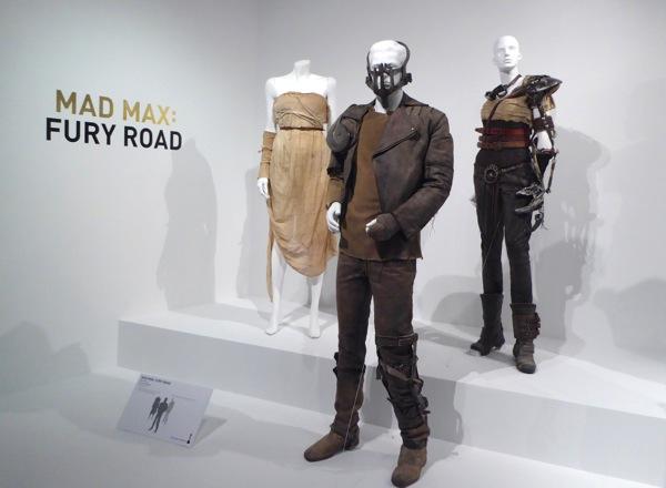 Mad Max Fury Road movie costume exhibit