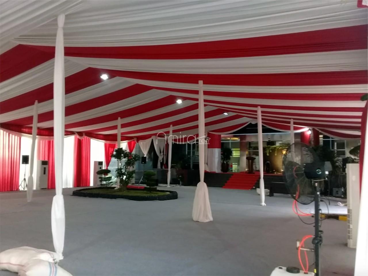 Sewa Tenda Pesta Peresmian Gedung LPSK Jakarta