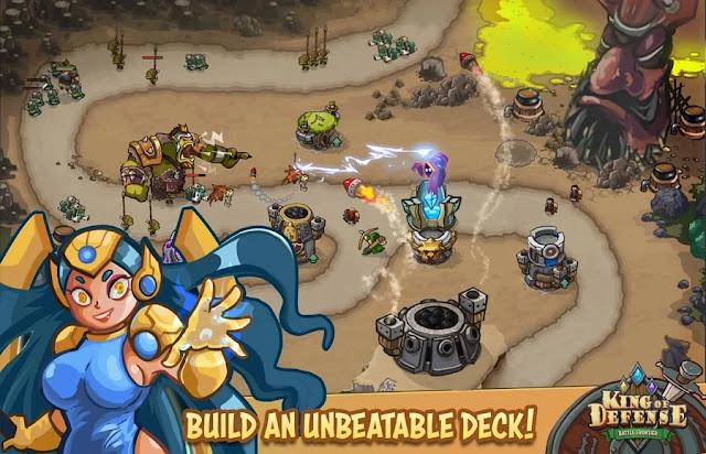 King Of Defense: Battle Frontier APK v1.0.8 MOD Android