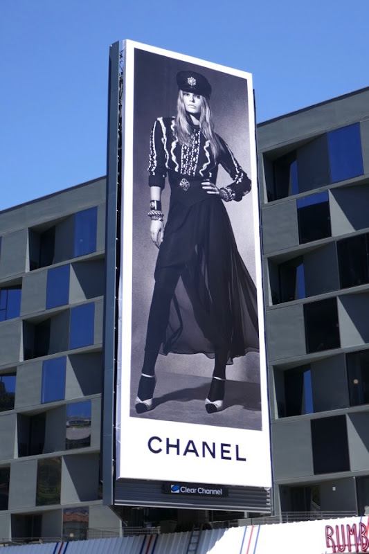 Chanel Summer 2018 billboard