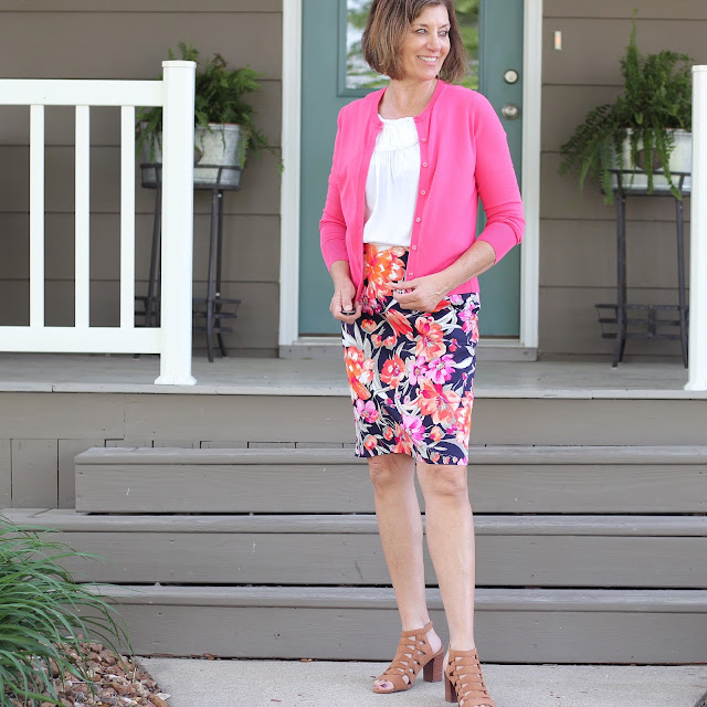 Simplicity 1465 made from Style Maker Fabrics' Stretch Sateen
