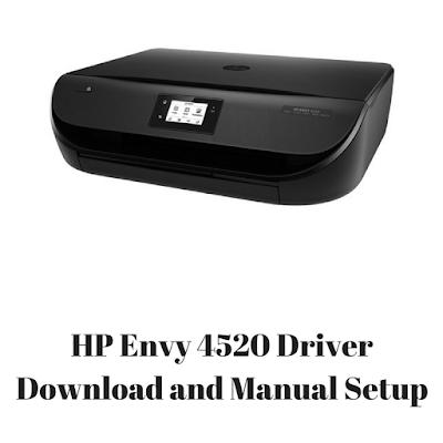 HP Envy 4520 Driver Download and Manual Setup