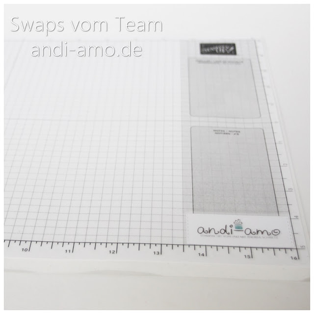 Stampin Up Team-Swaps andi-amo karierte Unterlage