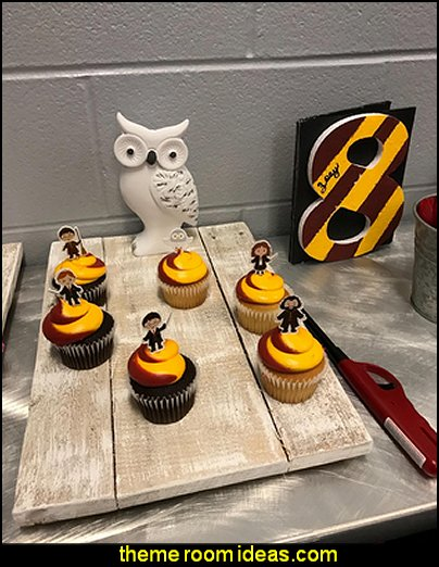 Harry Potter Party Cupcake Toppers Birthday Decorations Supplies Kids
