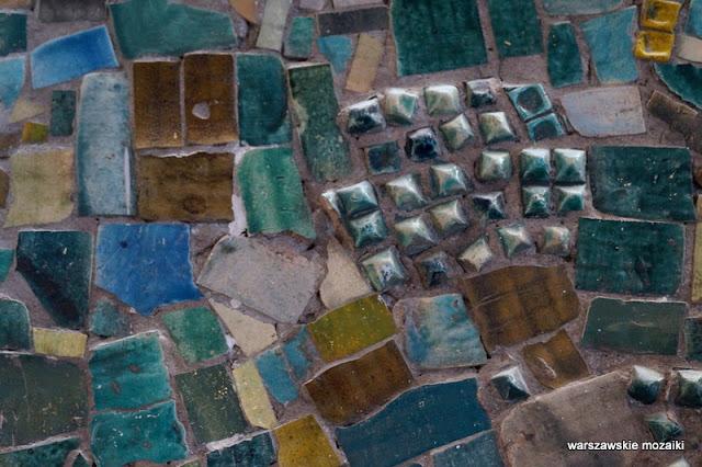 Warszawa Warsaw warszawskie mozaiki Danuta Duszniak mosaic