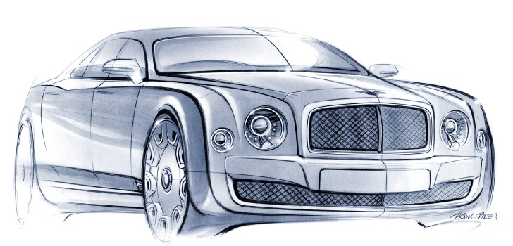 Design test: Bentley Mulsanne.