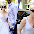 FOTOS/VIDEO: Lady Gaga llegando y saliendo de estudio de grabación en New York - 24/05/18