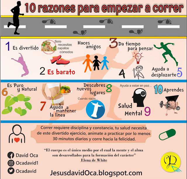razones comenzar correr ejercicios salud diversion