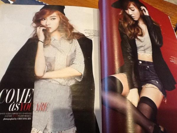Jessica on W Korea Magazine April Issue Preview