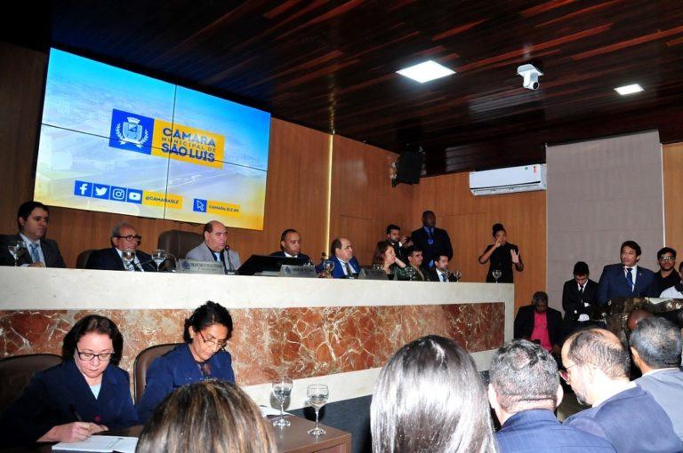 Vereadores destacam importância do quarto centenário da Câmara de São Luís