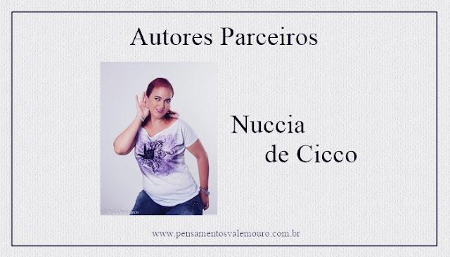 Blog Literário, parcerias, autores nacionais, Pensamentos Valem Ouro, Nuccia de Cicco