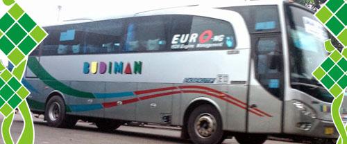 Harga Tiket Mudik Lebaran 2017 Bus Budiman Tasikmalaya