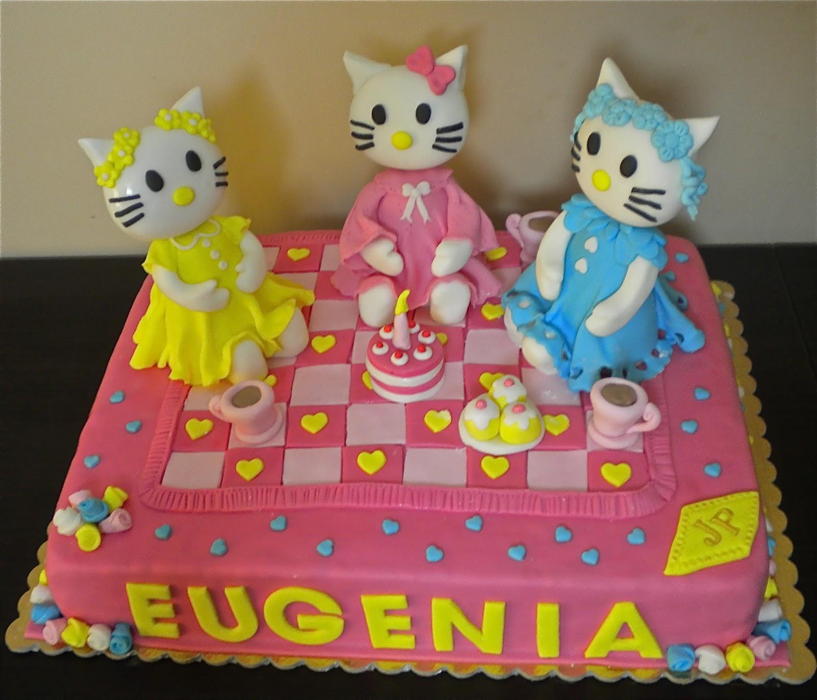 Favoloso LE TORTE DI PATRICIA: Torta Hello Kitty per la piccola Eugenia WI04