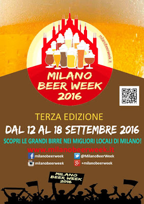 Milano Beer Week dal 12 al 18 settembre Milano 2016