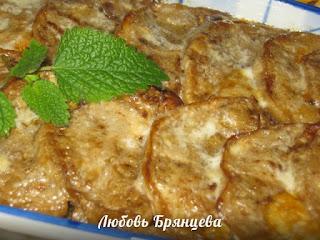 горячая закуска из баклажанов