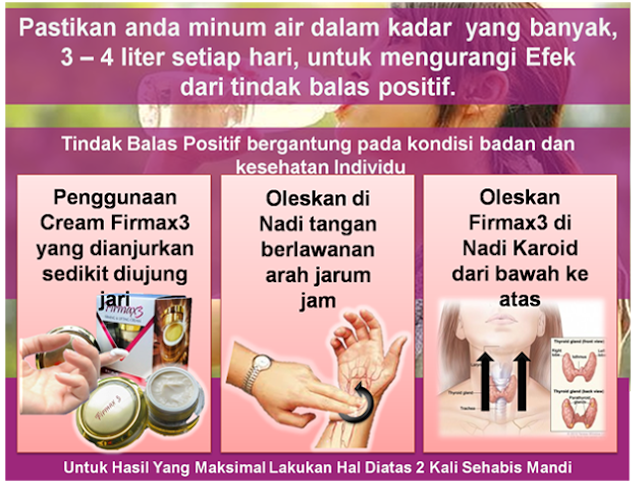 Cara Pemakaian Firmax3 Yang Benar dan Tepat, cara penggunaan firmax3 cream, cara pemakaian firmax 3 cream,cara pemakaian firmax3, cara penggunaan firmax3, cara guna firmax3, firmax3 cara pemakaian,firmax3 cara penggunaan,
